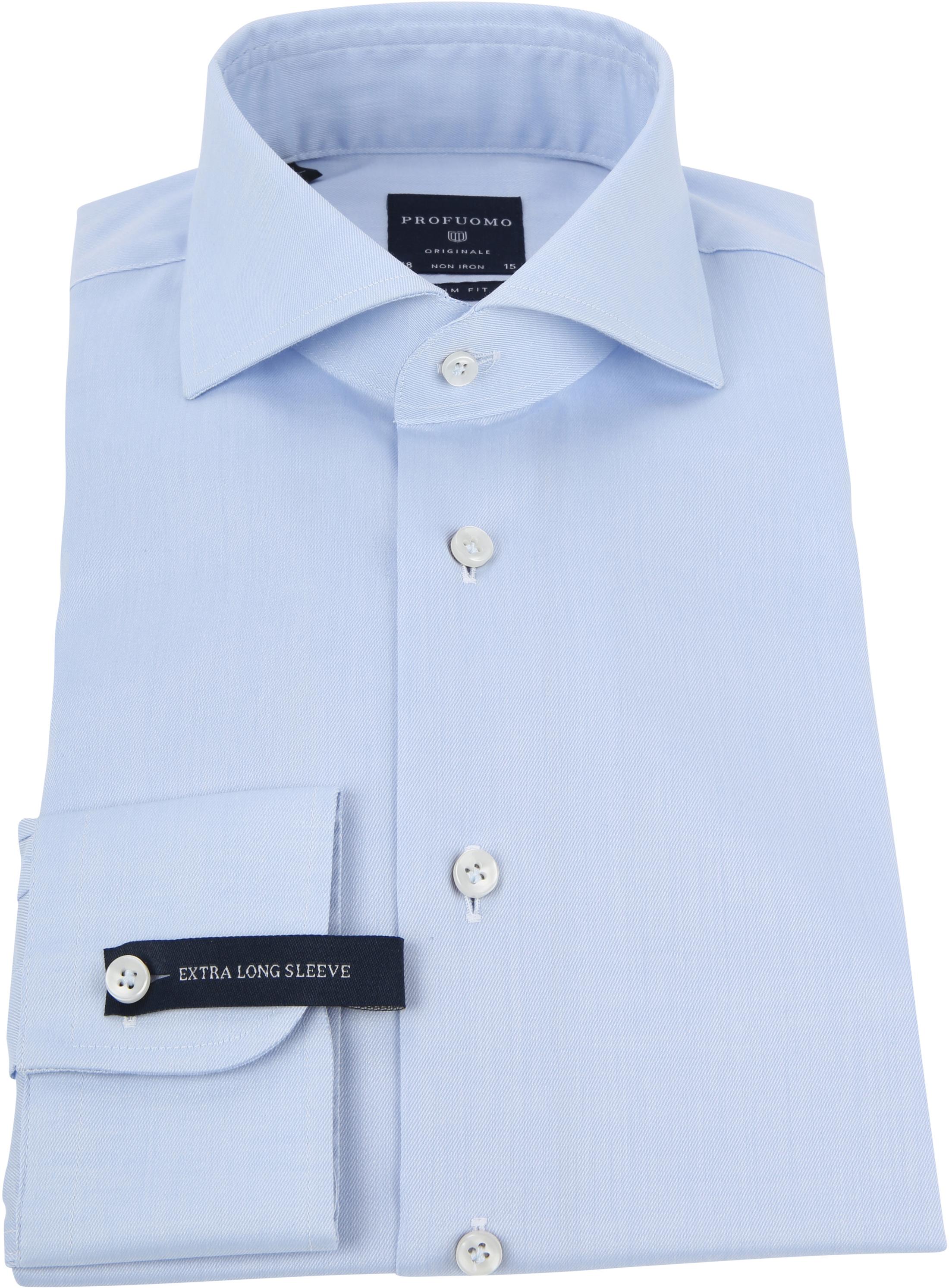 Profuomo Shirt SL7 Cutaway Lichtblauw foto 2