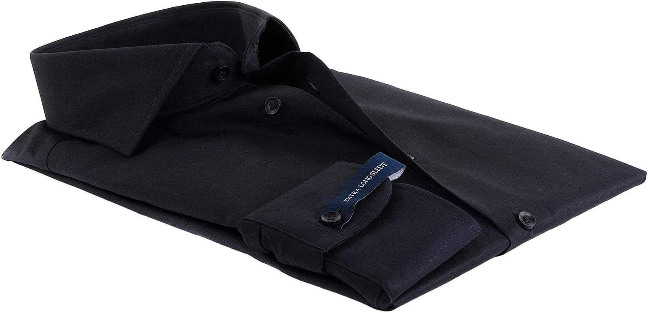 Profuomo Shirt SL7 Cutaway Schwarz foto 1