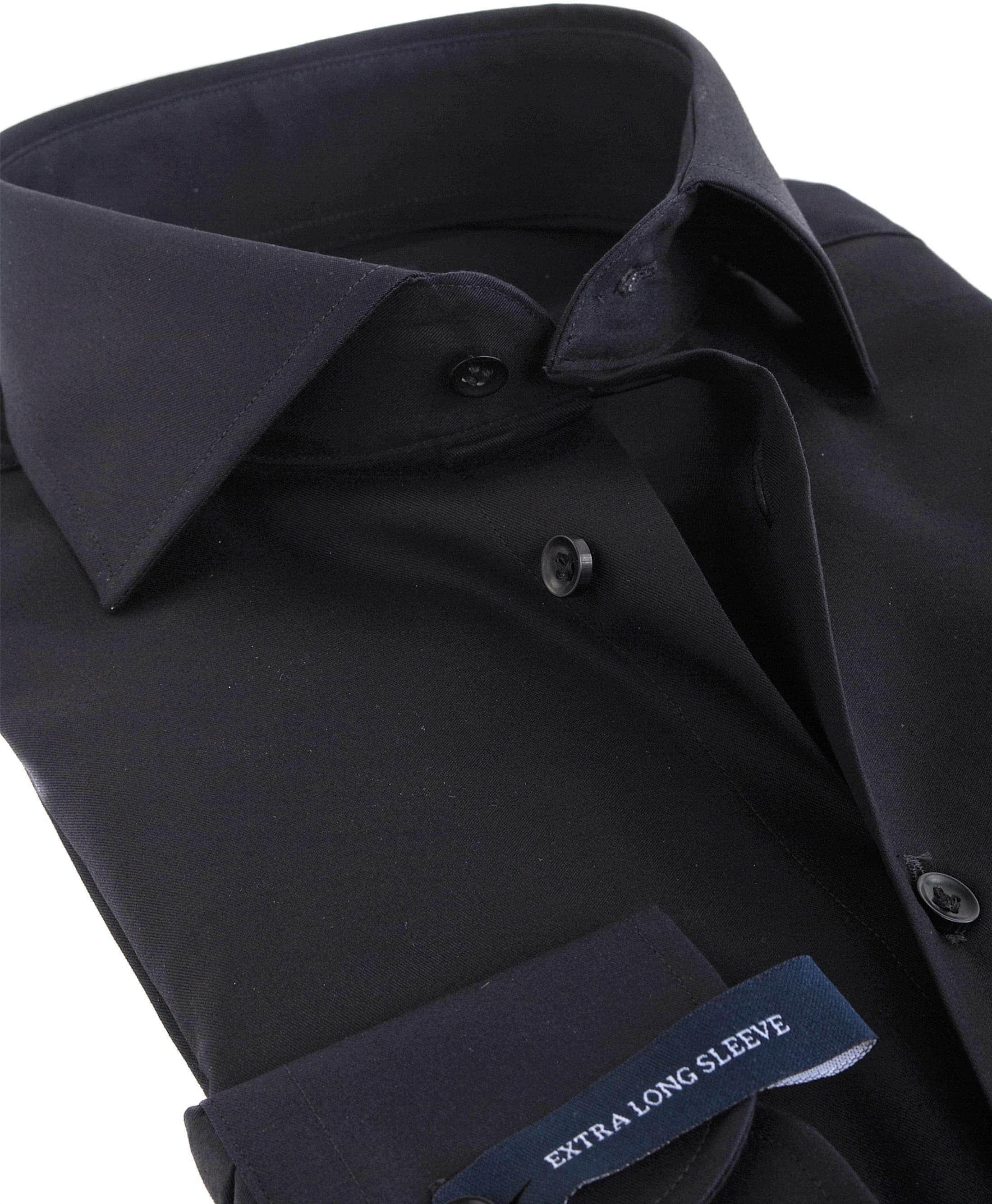 Profuomo Shirt SL7 Cutaway Schwarz foto 2
