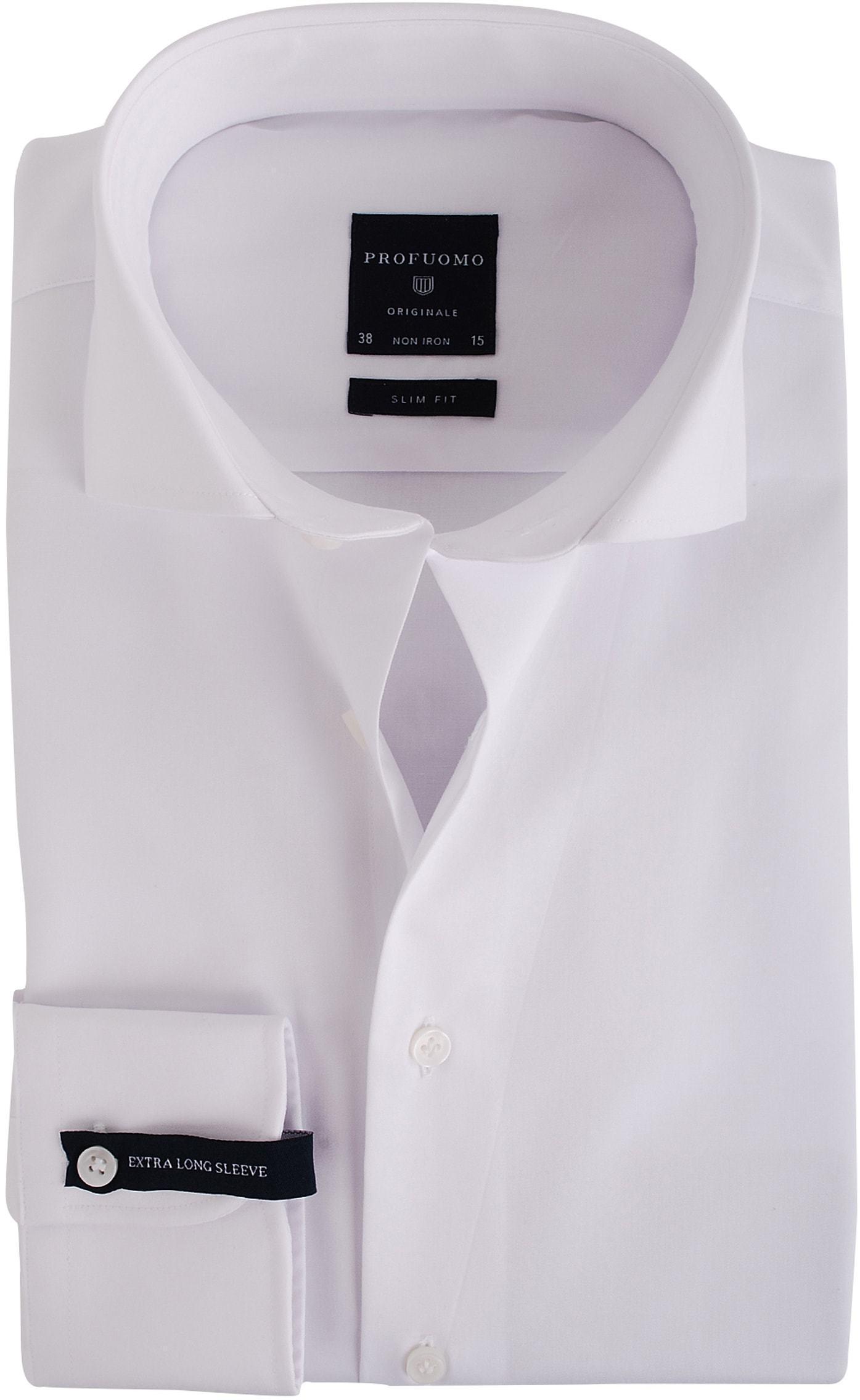 Profuomo Shirt SL7 Cutaway Weiß foto 0