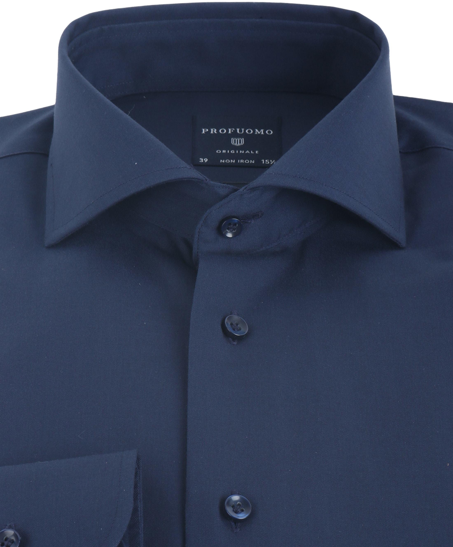Profuomo Shirt Slim Fit Navy foto 2