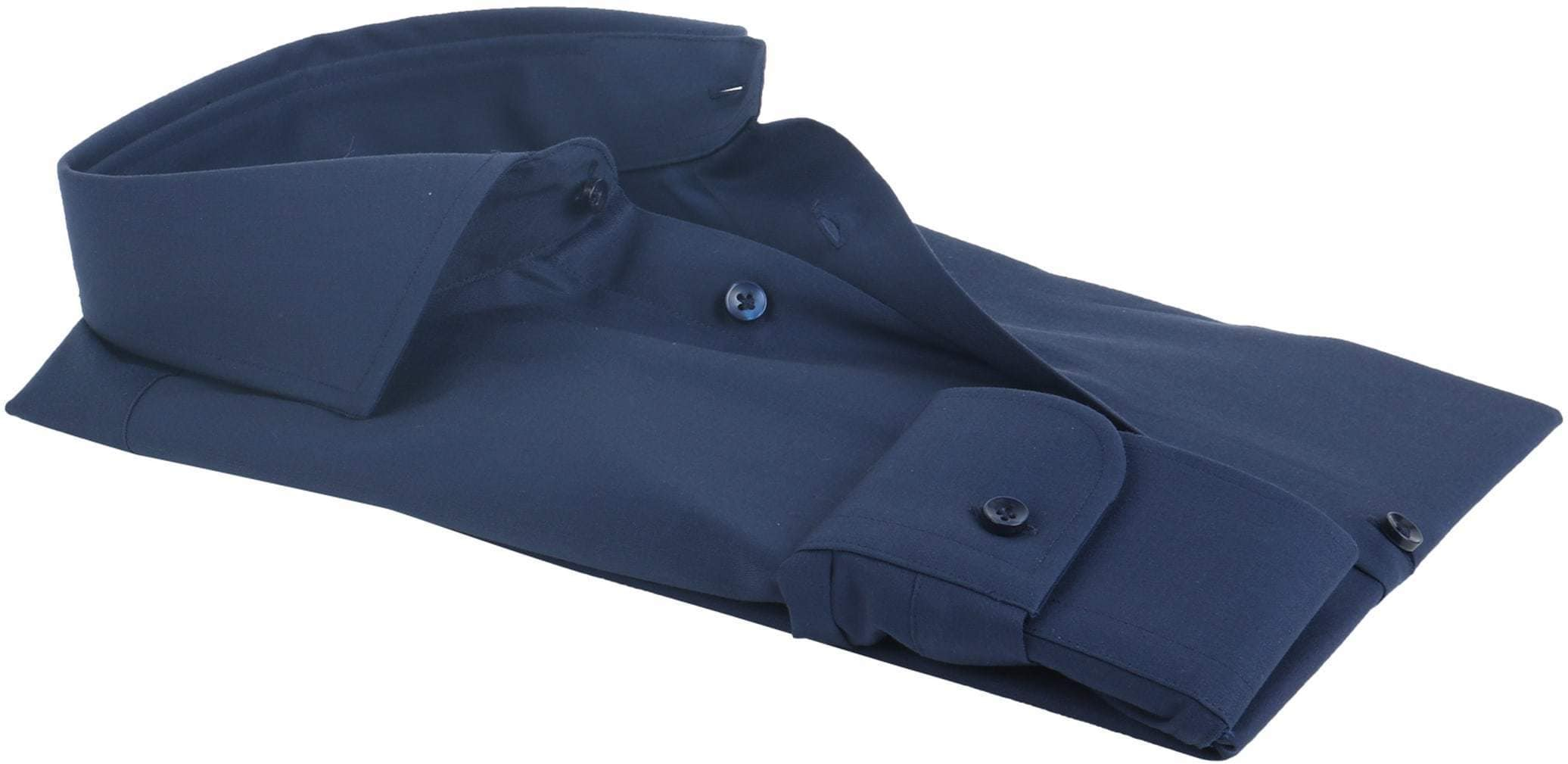 Profuomo Shirt Slim Fit Navy foto 3