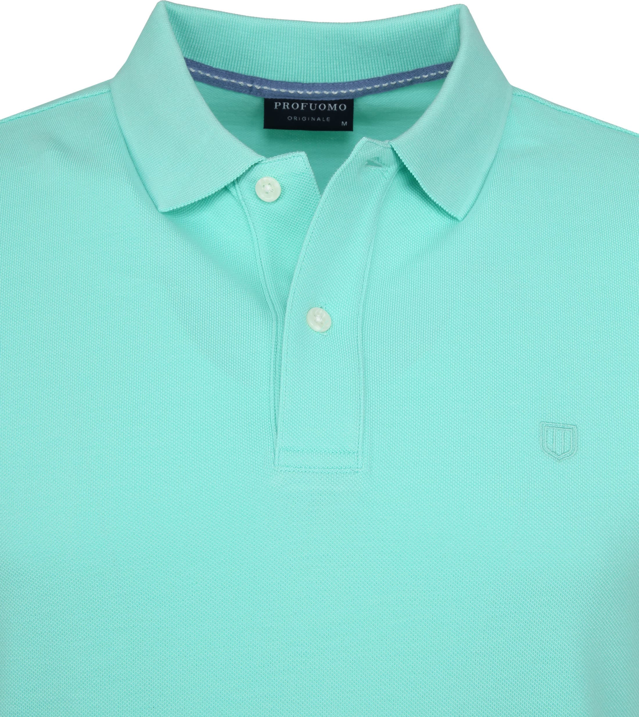 Profuomo Short Sleeve Polo Mint foto 1