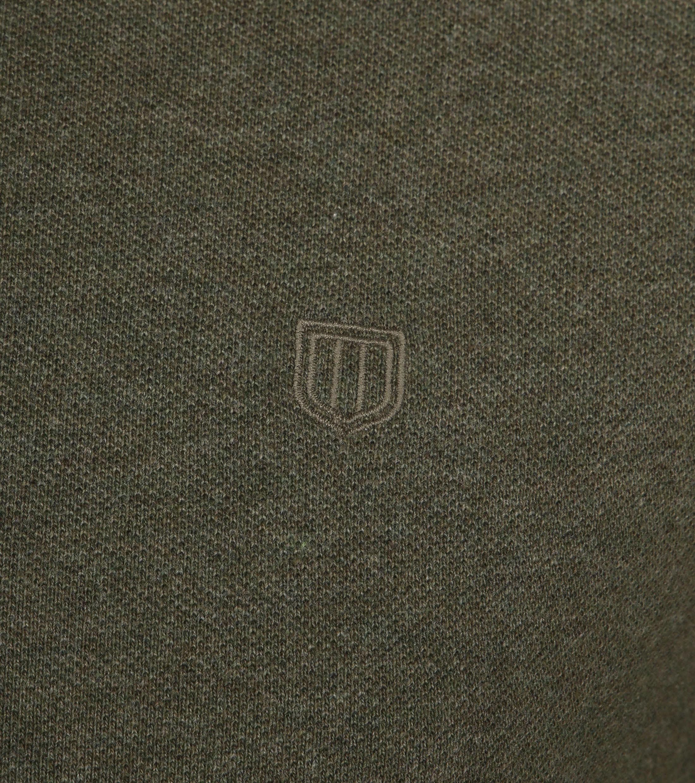 Profuomo Short Sleeve Poloshirt Army foto 2