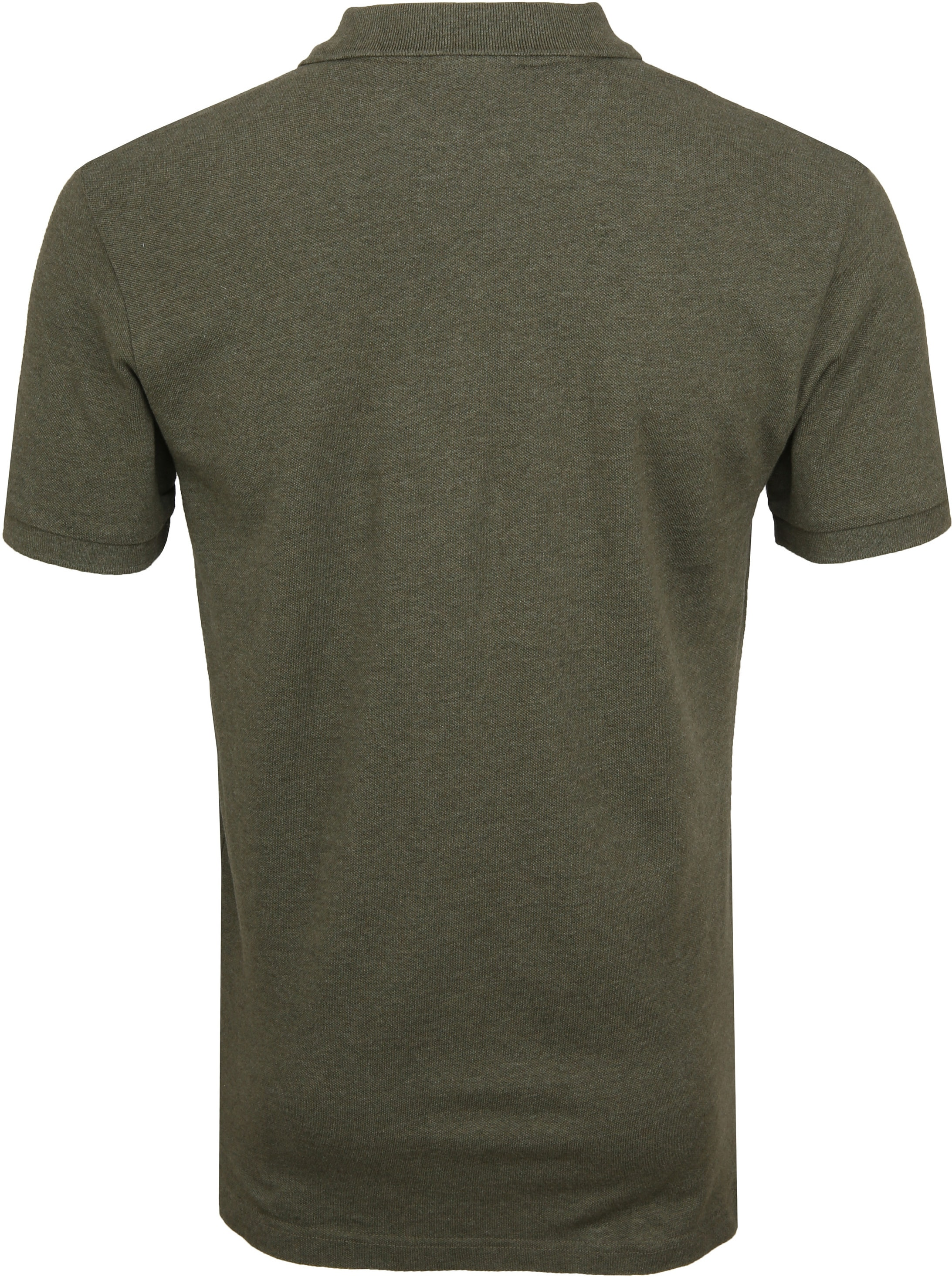 Profuomo Short Sleeve Poloshirt Army foto 3