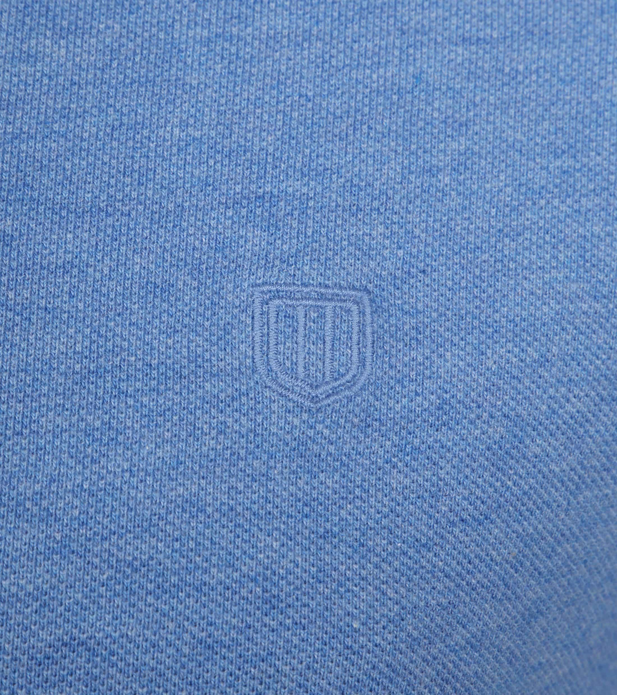 Profuomo Short Sleeve Poloshirt Blau foto 2