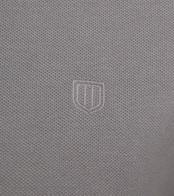 Profuomo Short Sleeve Poloshirt Grau foto 2