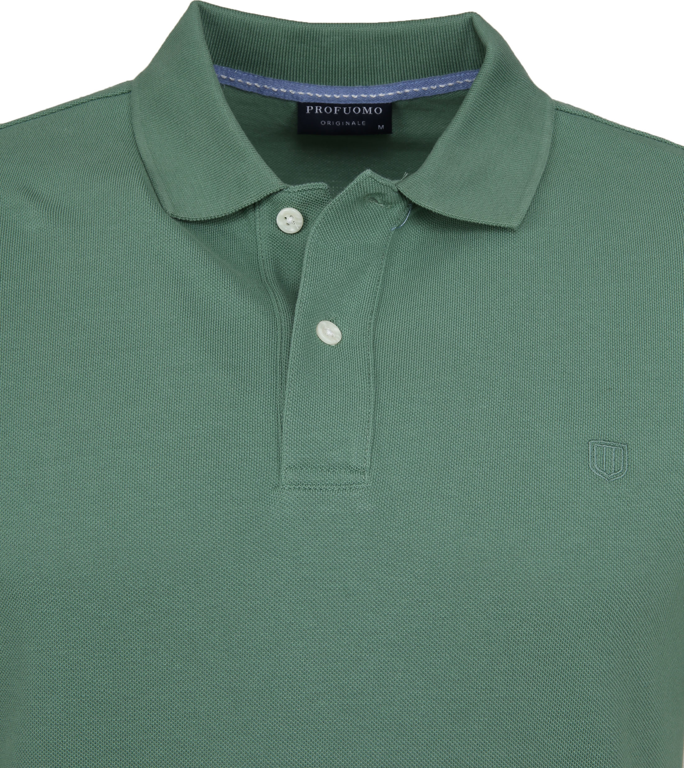 Profuomo Short Sleeve Poloshirt Grün foto 1