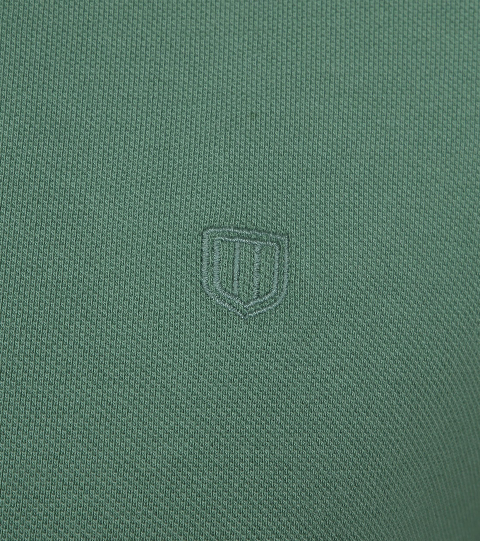 Profuomo Short Sleeve Poloshirt Grün foto 2
