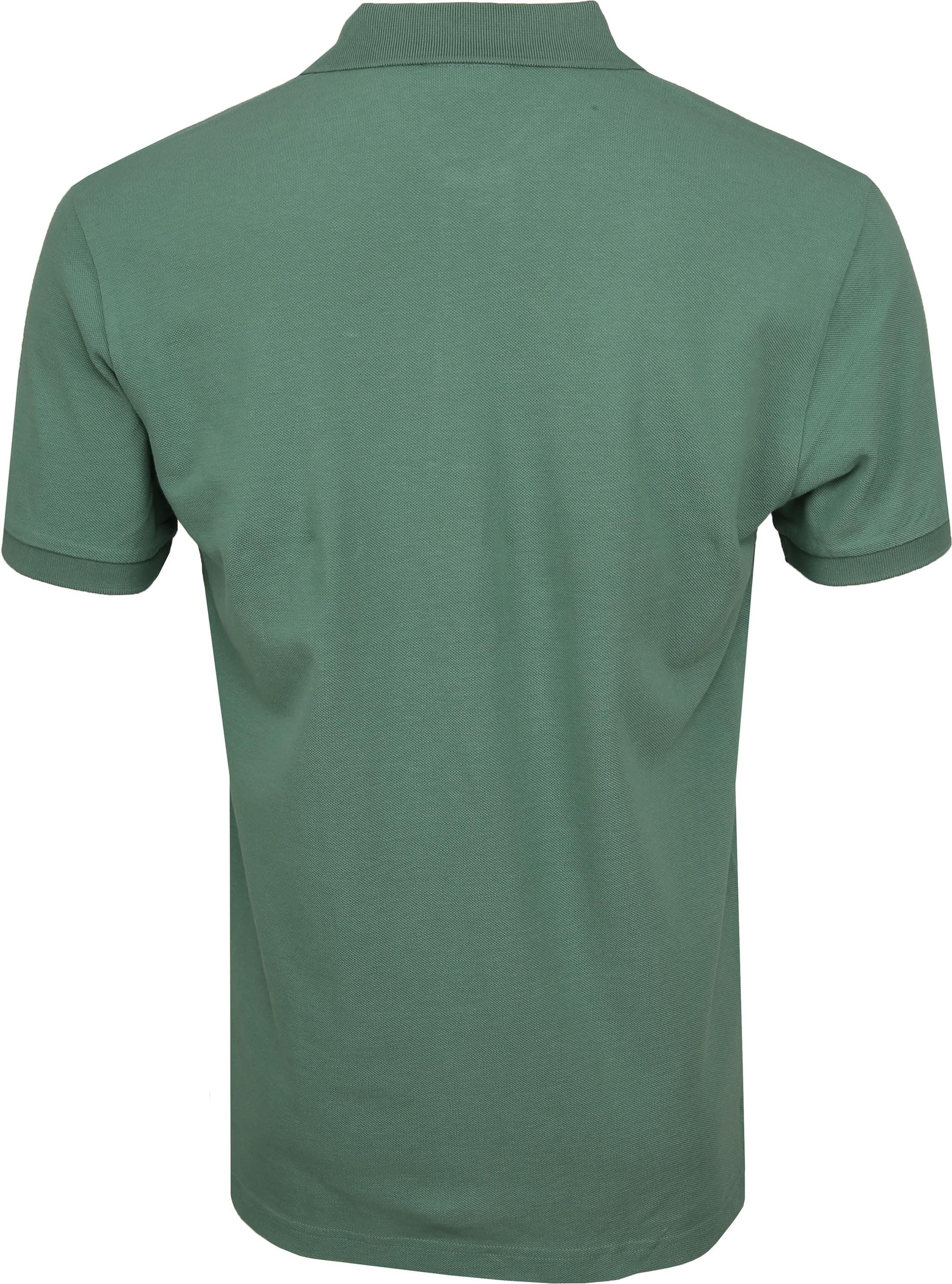 Profuomo Short Sleeve Poloshirt Grün foto 3