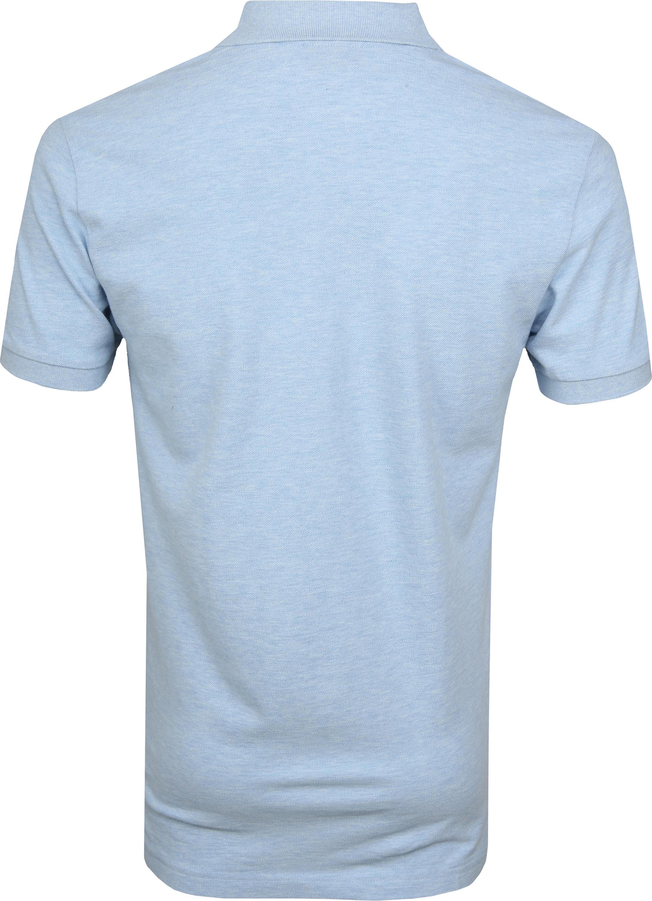 Profuomo Short Sleeve Poloshirt Hellblau foto 3