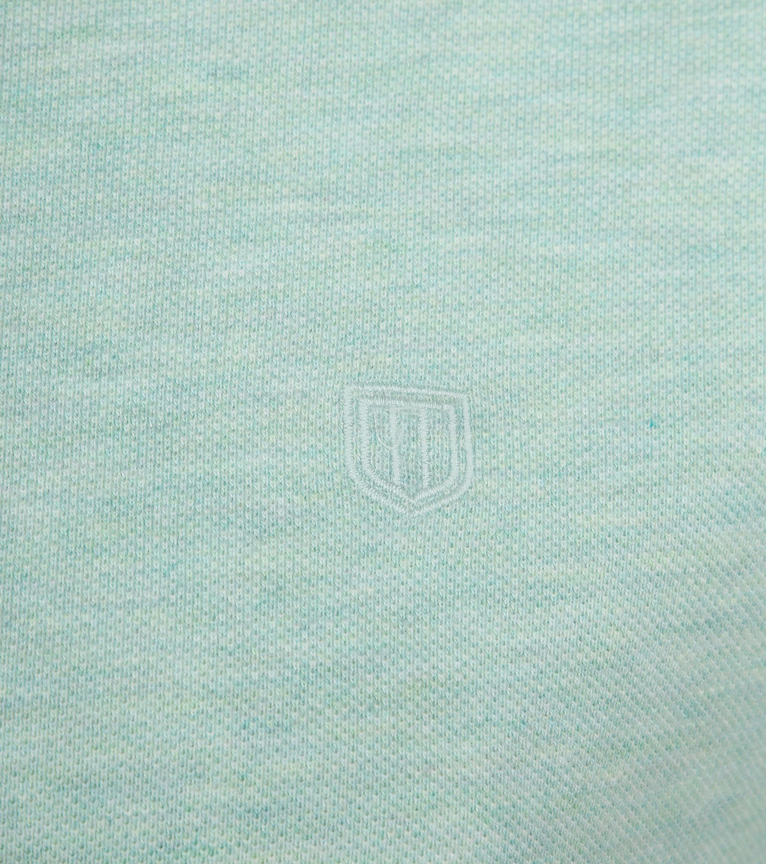 Profuomo Short Sleeve Poloshirt Hellgrün foto 2