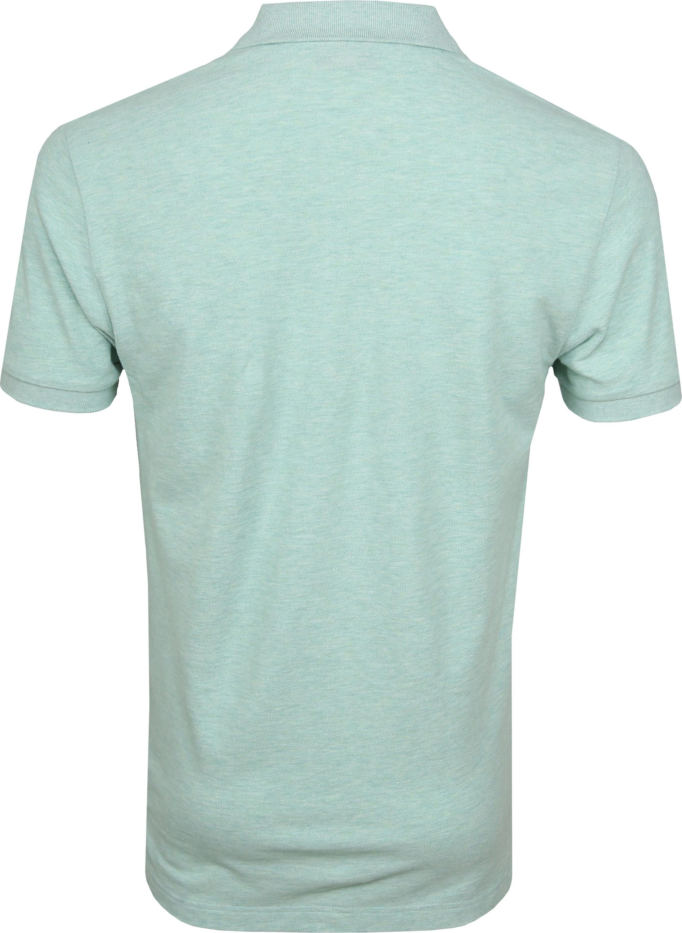 Profuomo Short Sleeve Poloshirt Hellgrün foto 3