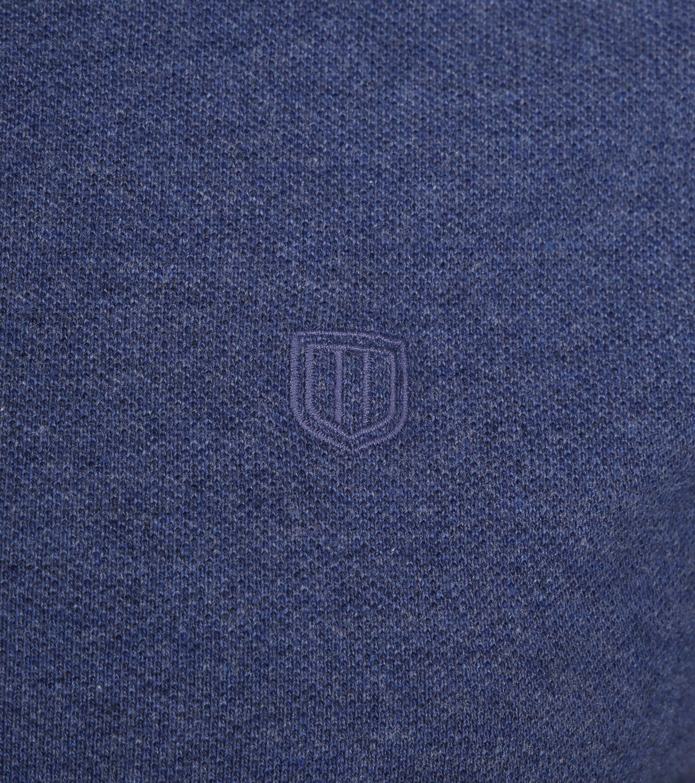 Profuomo Short Sleeve Poloshirt Indigo foto 2