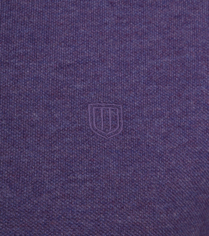 Profuomo Short Sleeve Poloshirt Lila foto 2