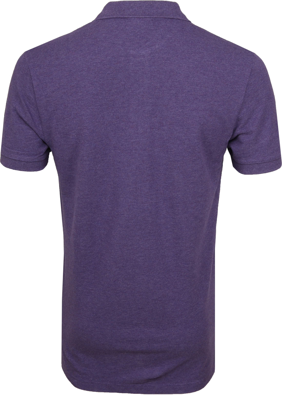 Profuomo Short Sleeve Poloshirt Lila foto 3