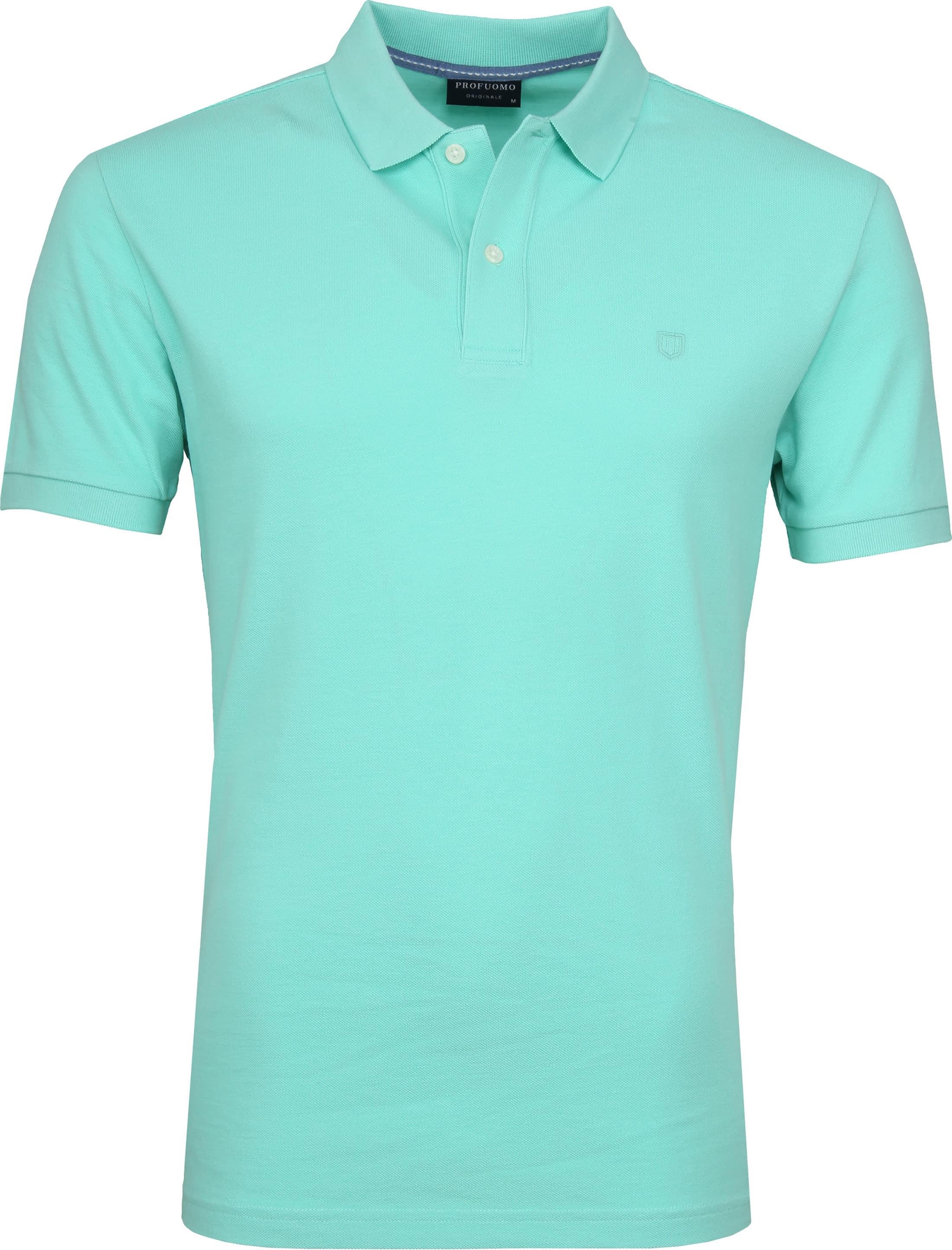 Profuomo Short Sleeve Poloshirt Minze foto 0