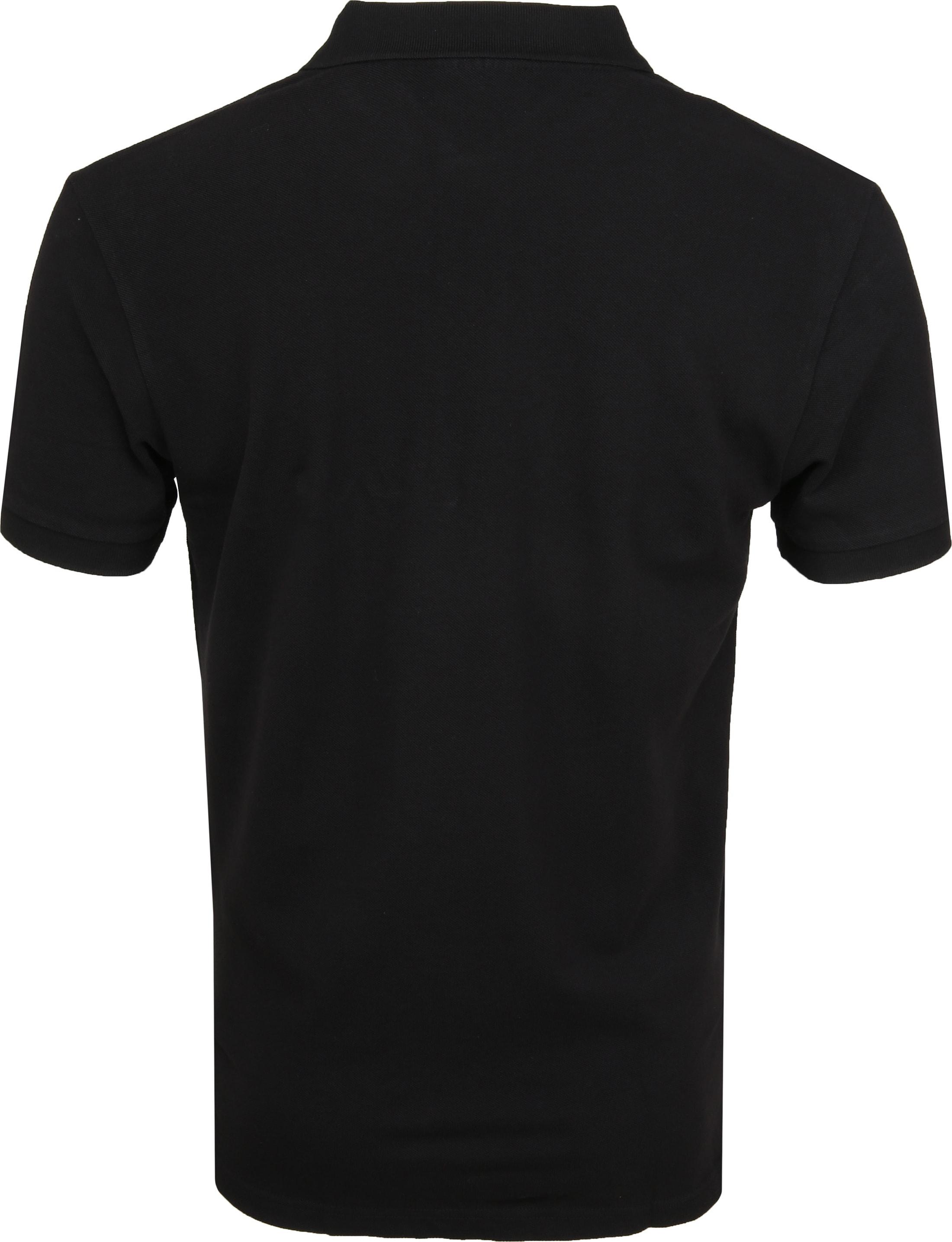 Profuomo Short Sleeve Poloshirt Schwarz foto 3