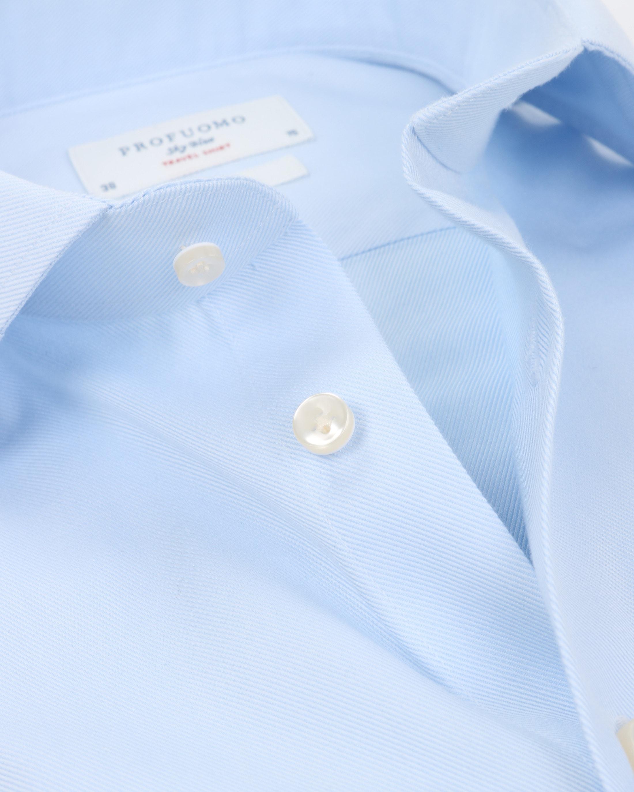 Profuomo Sky Blue Travel Shirt Blau foto 1