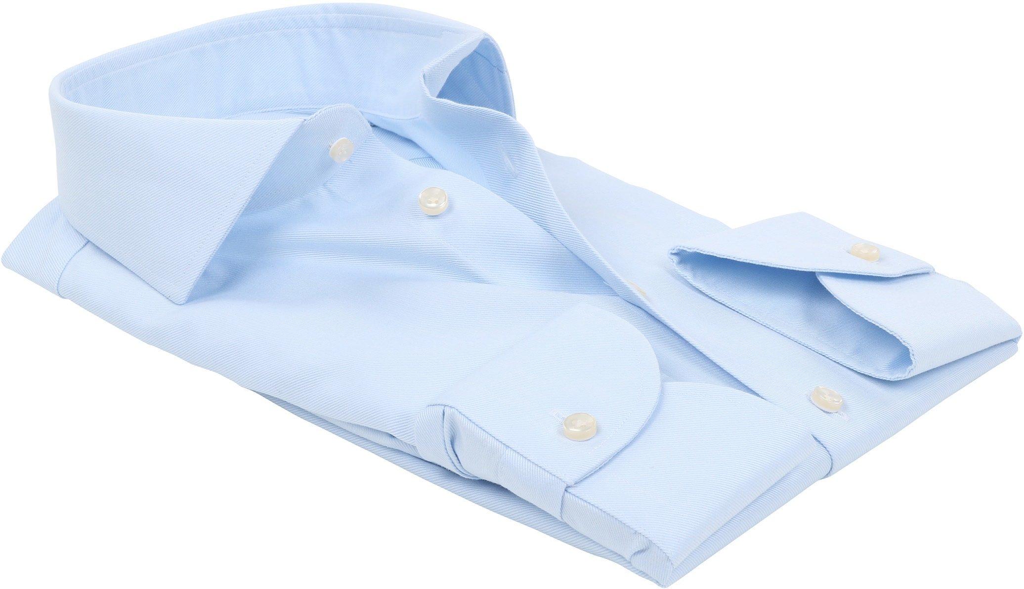 Profuomo Sky Blue Travel Shirt Blau foto 2