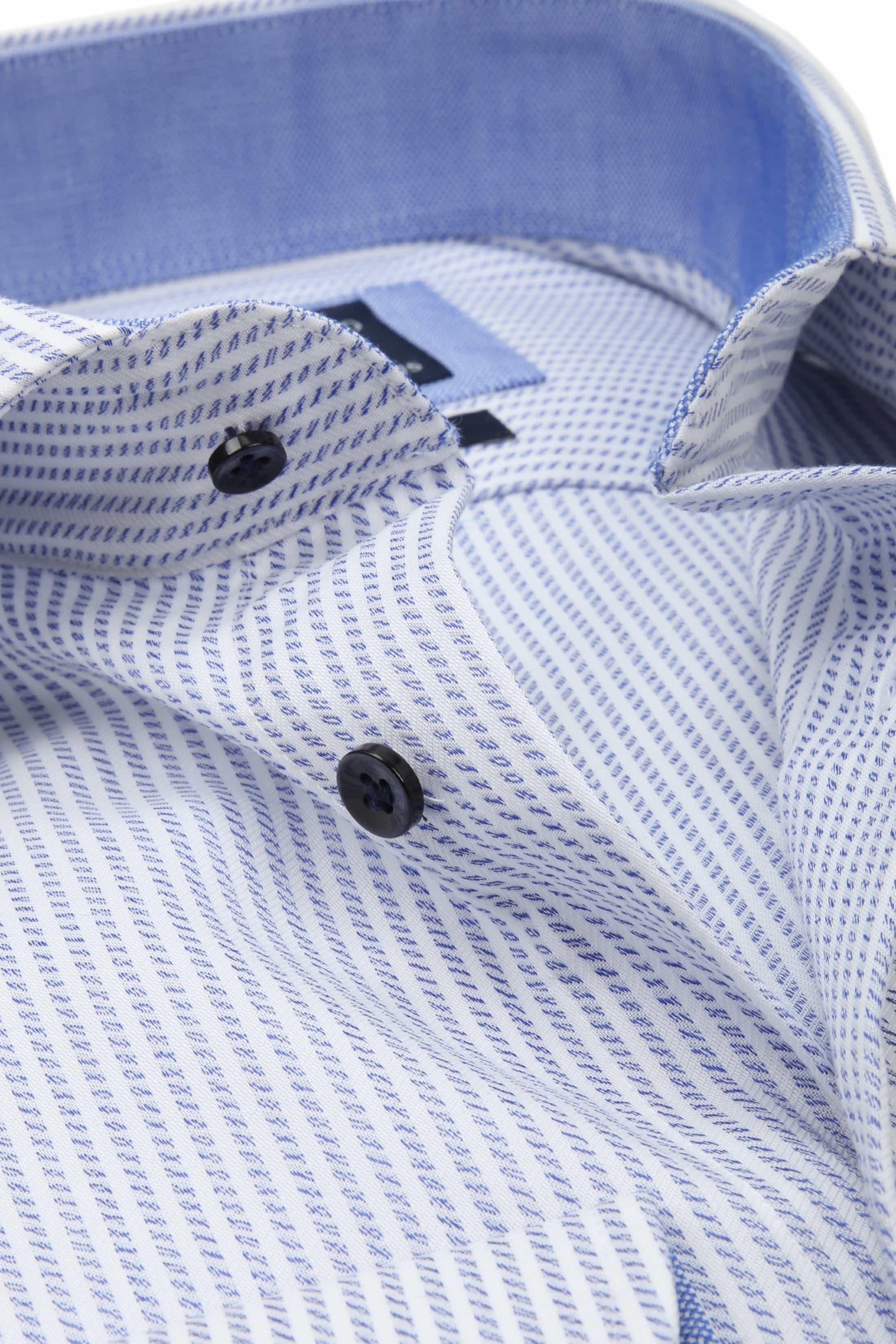 Profuomo Slim-Fit Overhemd Blauw foto 1