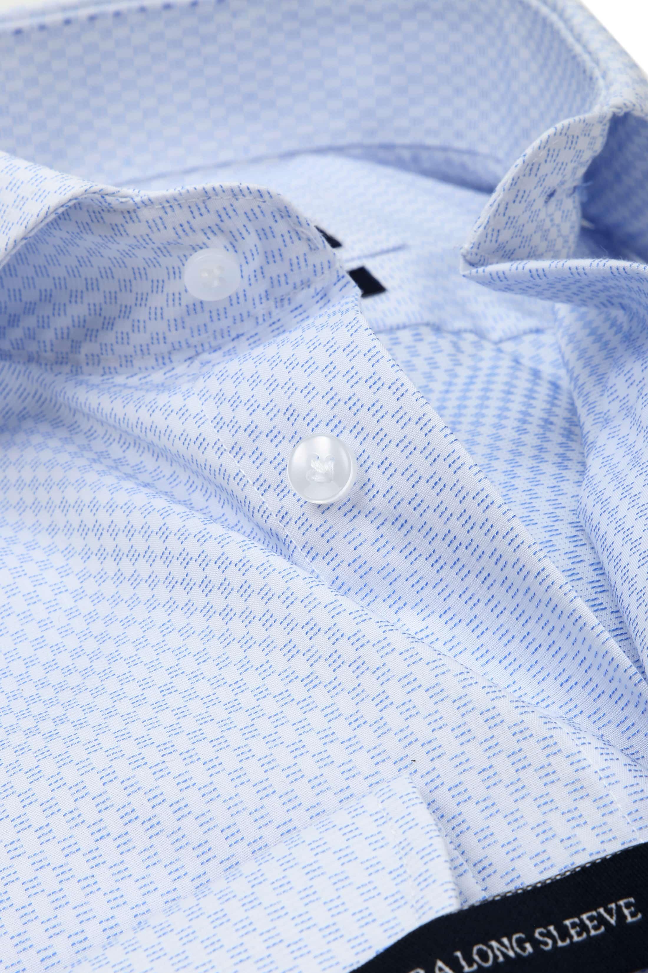 Profuomo Slim-Fit Overhemd Blauw SL7 foto 1
