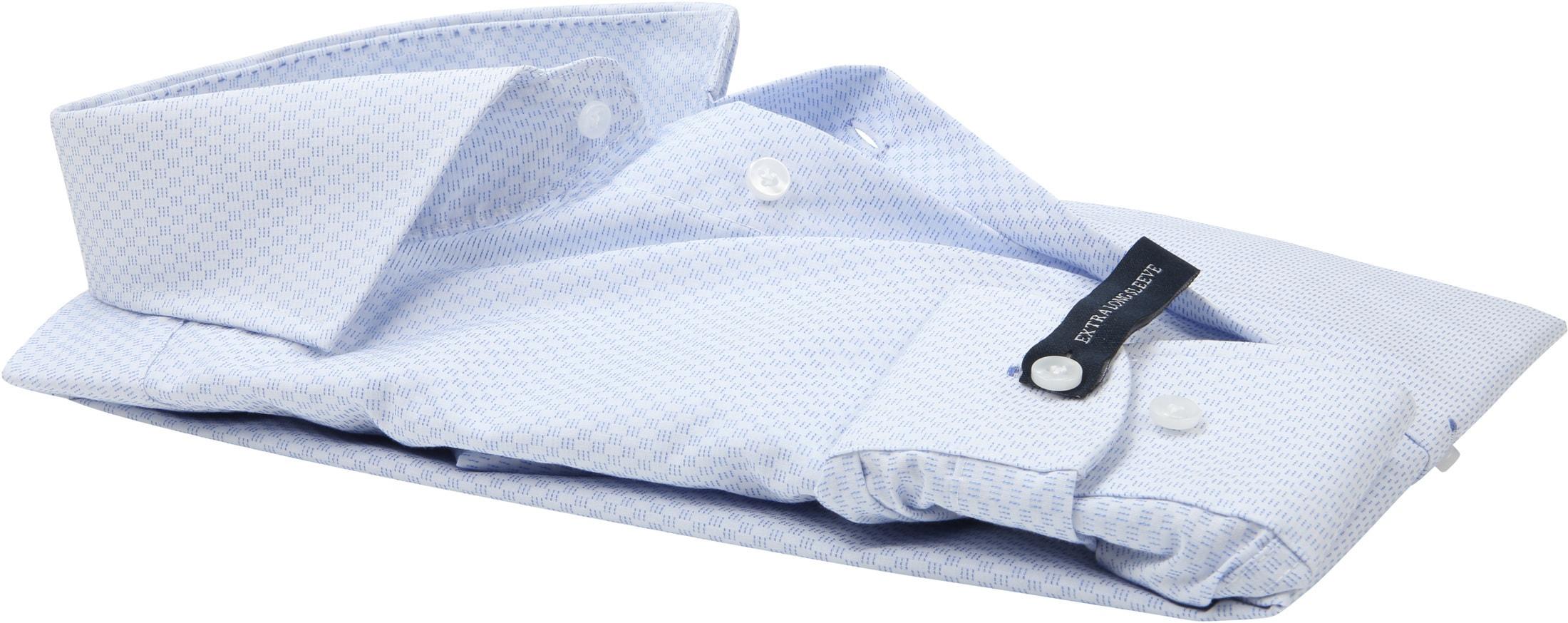 Profuomo Slim-Fit Overhemd Blauw SL7 foto 3