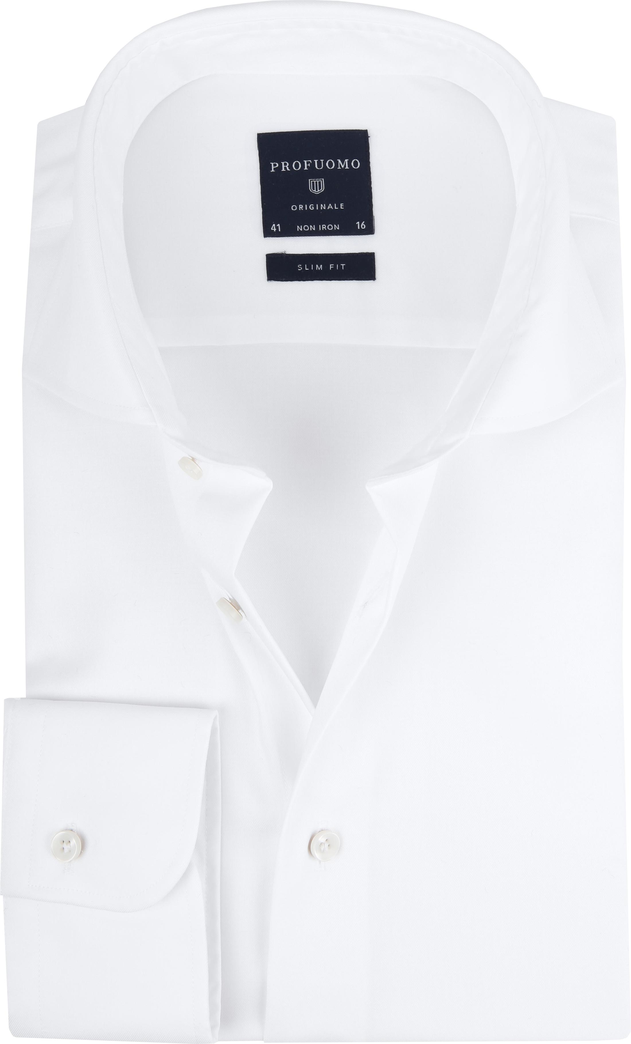 Profuomo Slim Fit Overhemd Cutaway foto 0