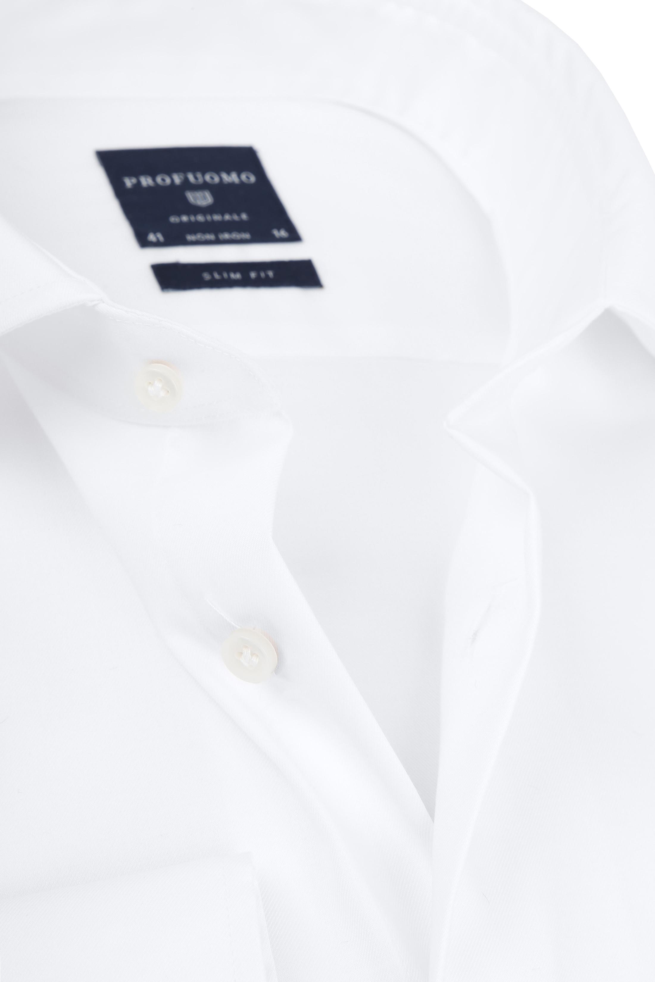 Profuomo Slim Fit Overhemd Cutaway foto 1