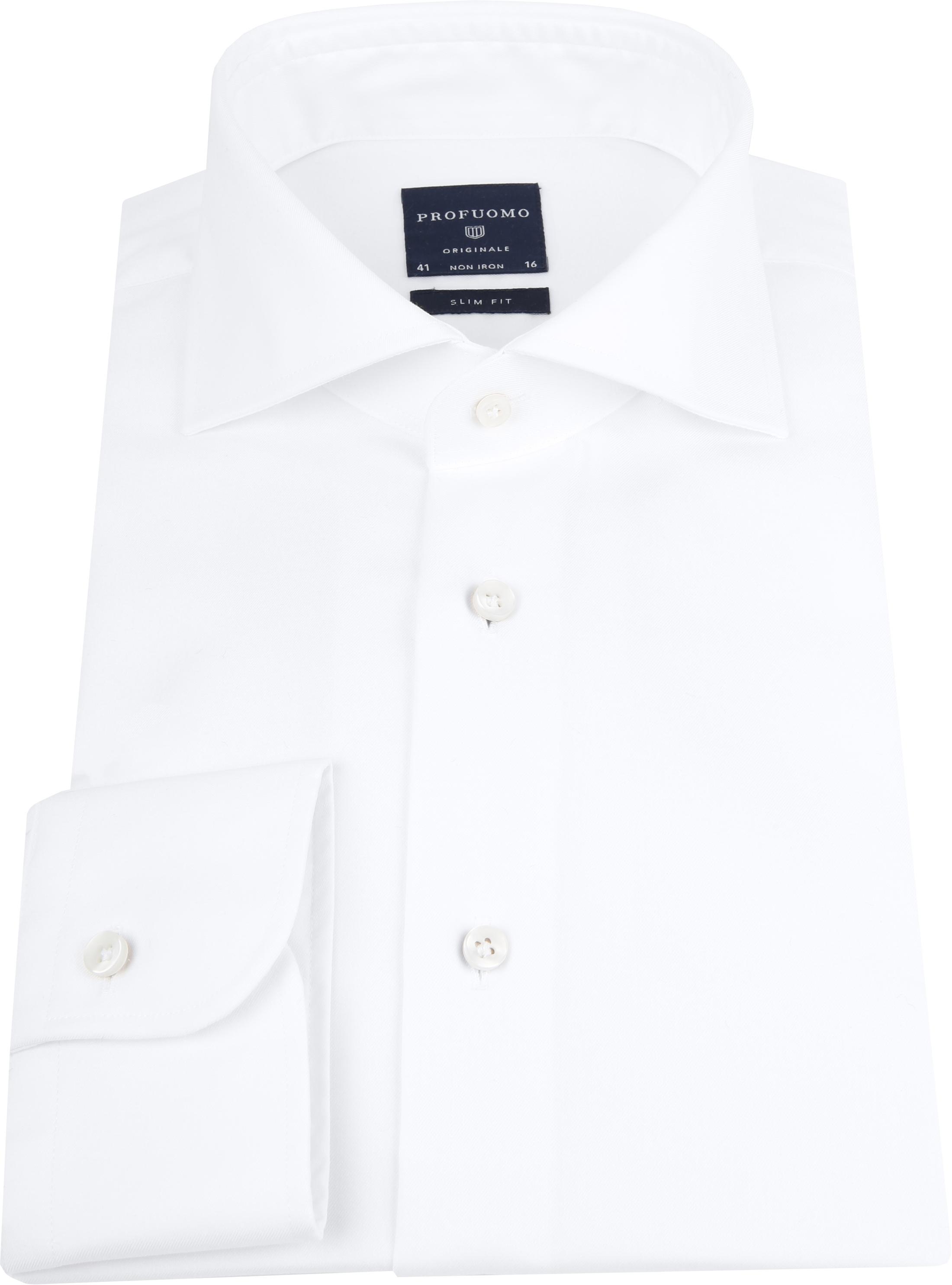 Profuomo Slim Fit Overhemd Cutaway foto 2