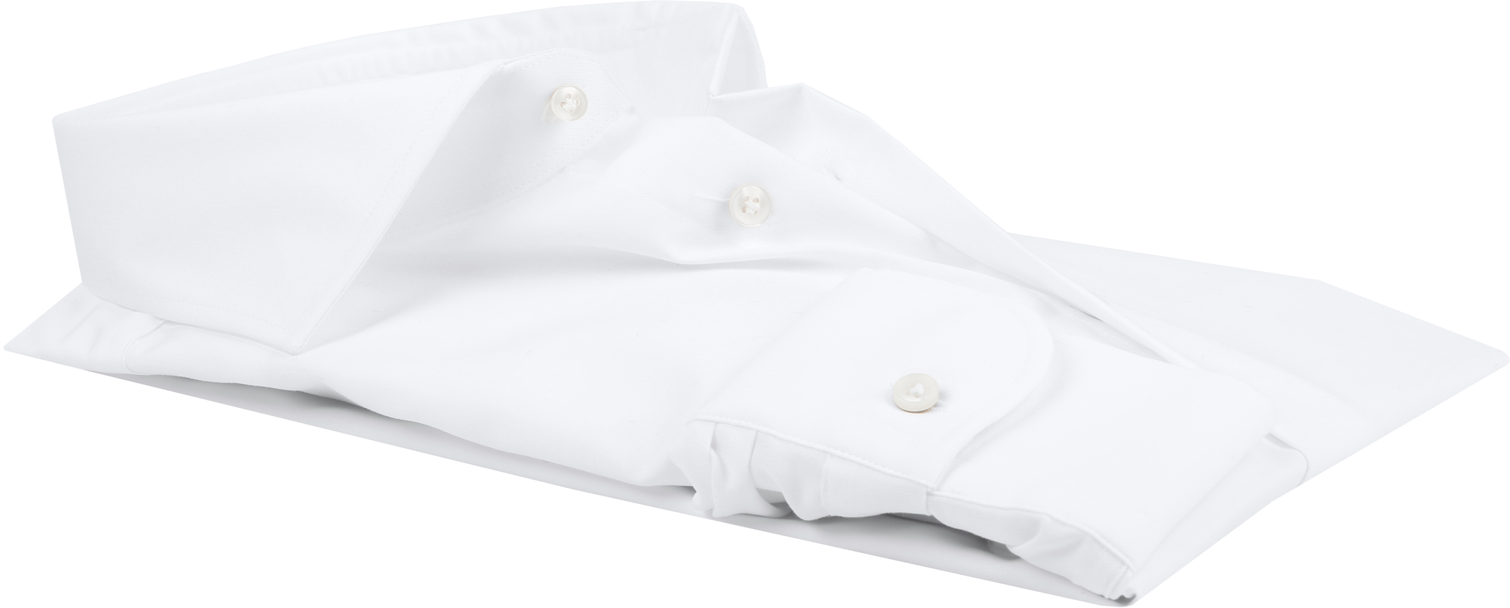 Profuomo Slim Fit Overhemd Cutaway foto 3