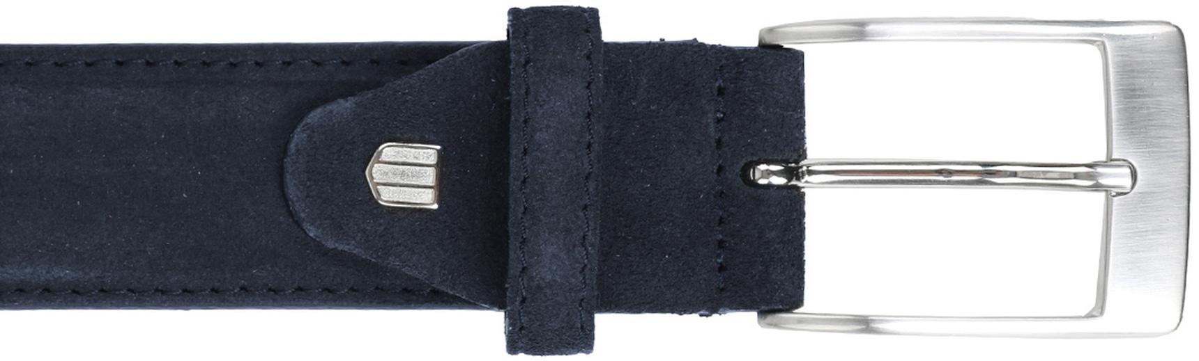 Profuomo Suede Dark blue Belt  foto 1