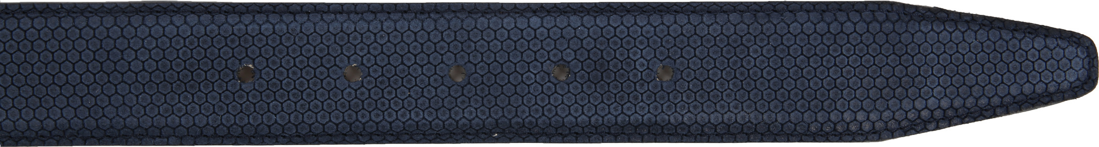 Profuomo Suede Leather Navy foto 2