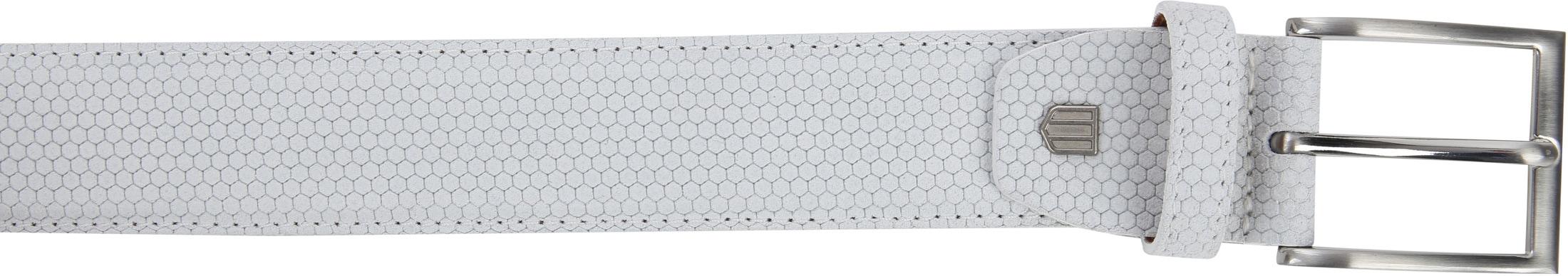Profuomo Suede Leather White foto 1