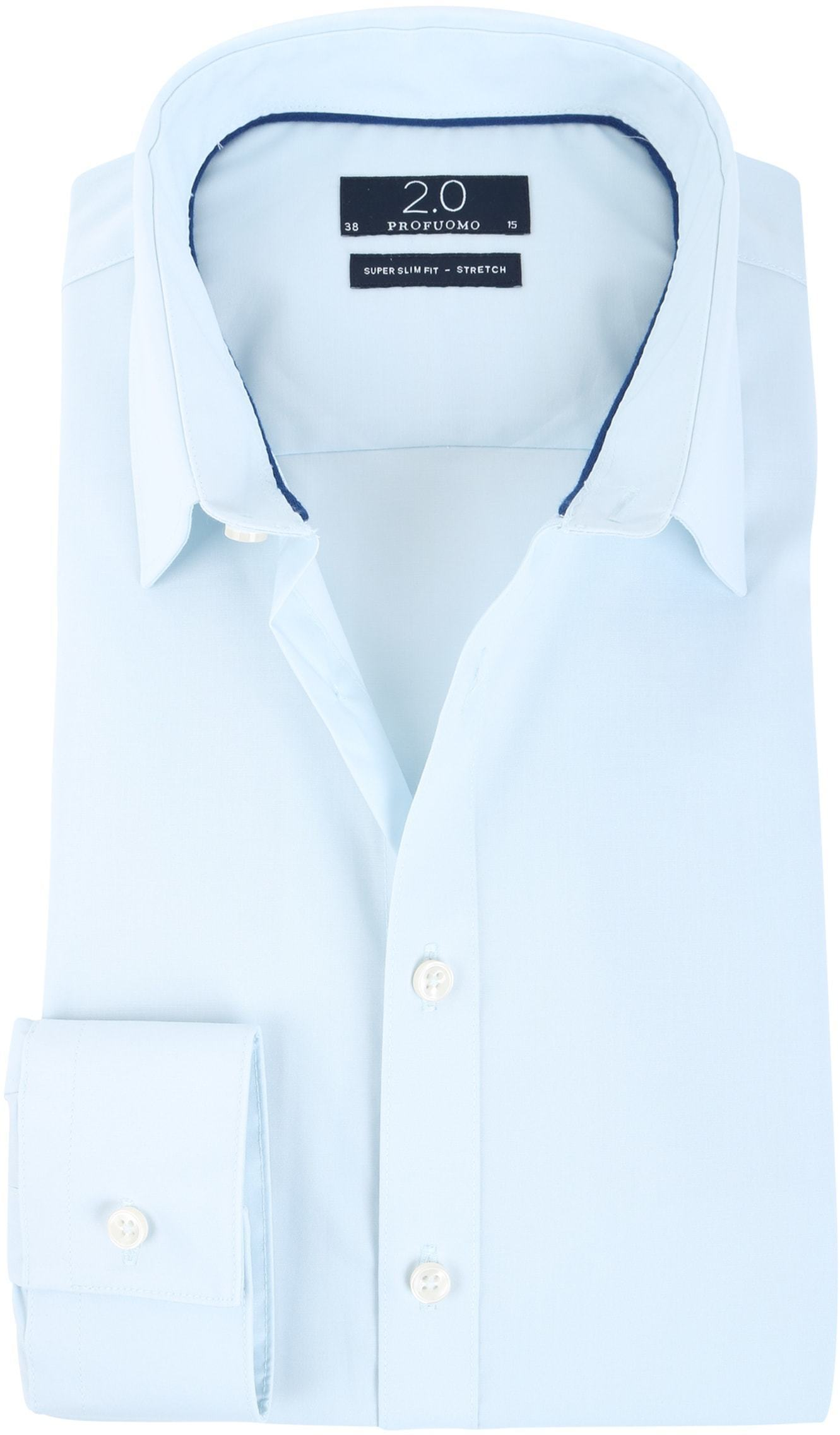 Profuomo Super Slim Fit Shirt Ice Blue foto 0