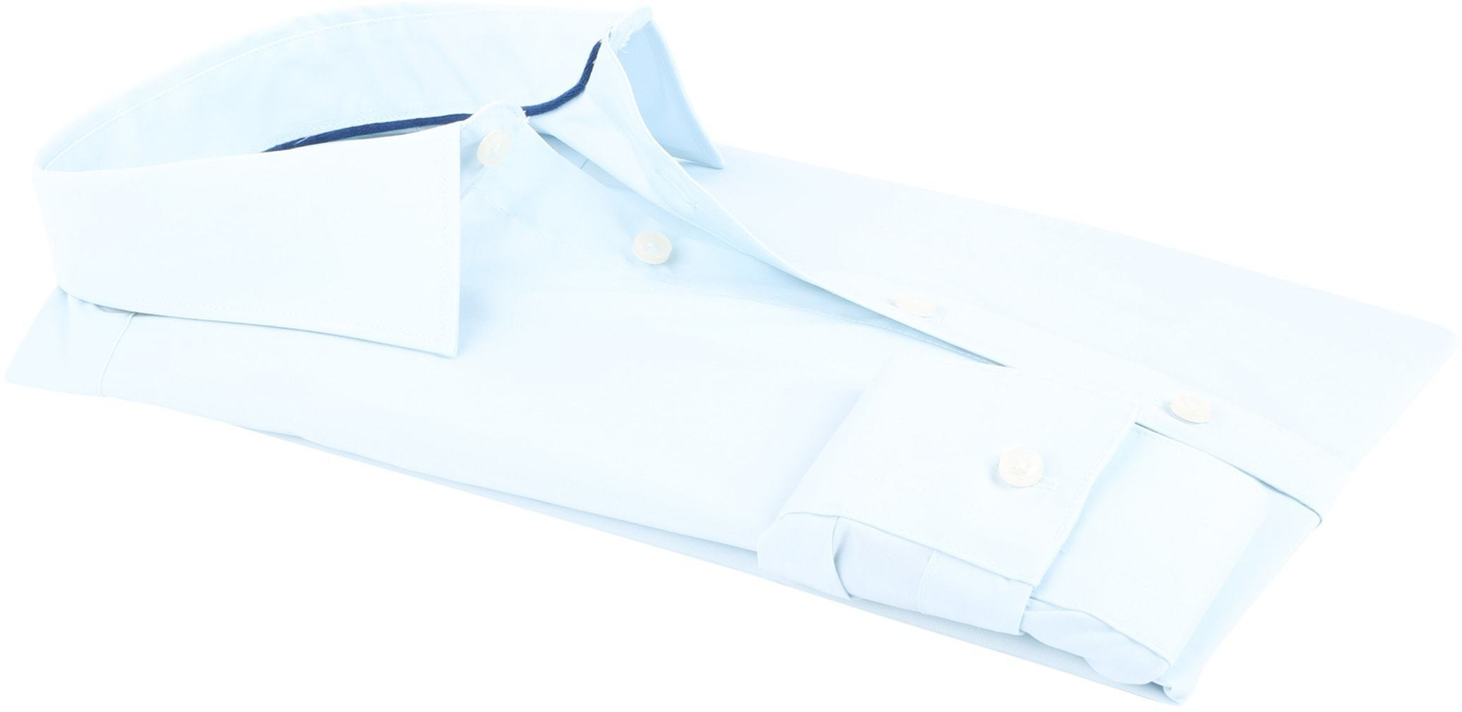 Profuomo Super Slim Fit Shirt Ice Blue foto 3