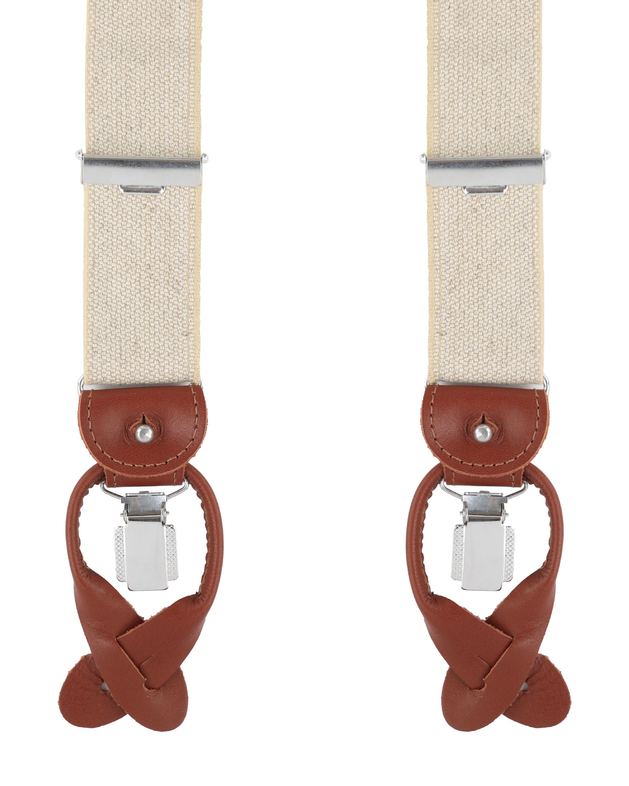 Profuomo Suspenders Beige foto 0