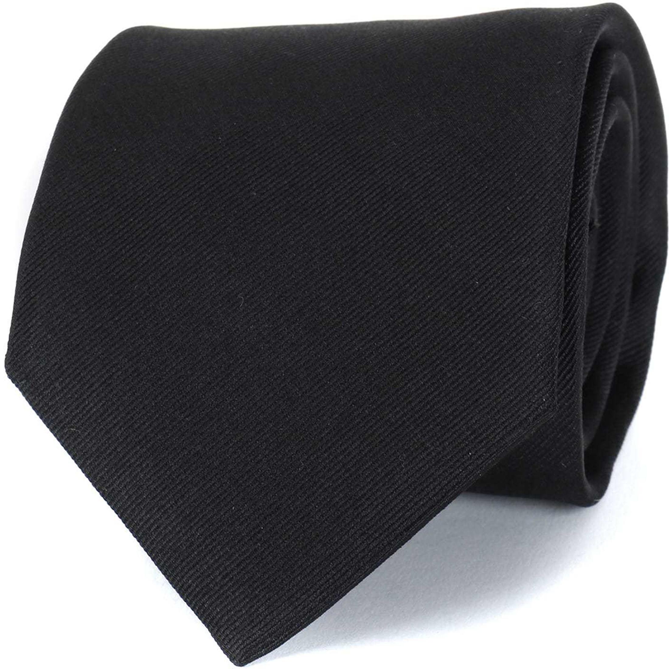 Profuomo Tie Black 16J foto 0