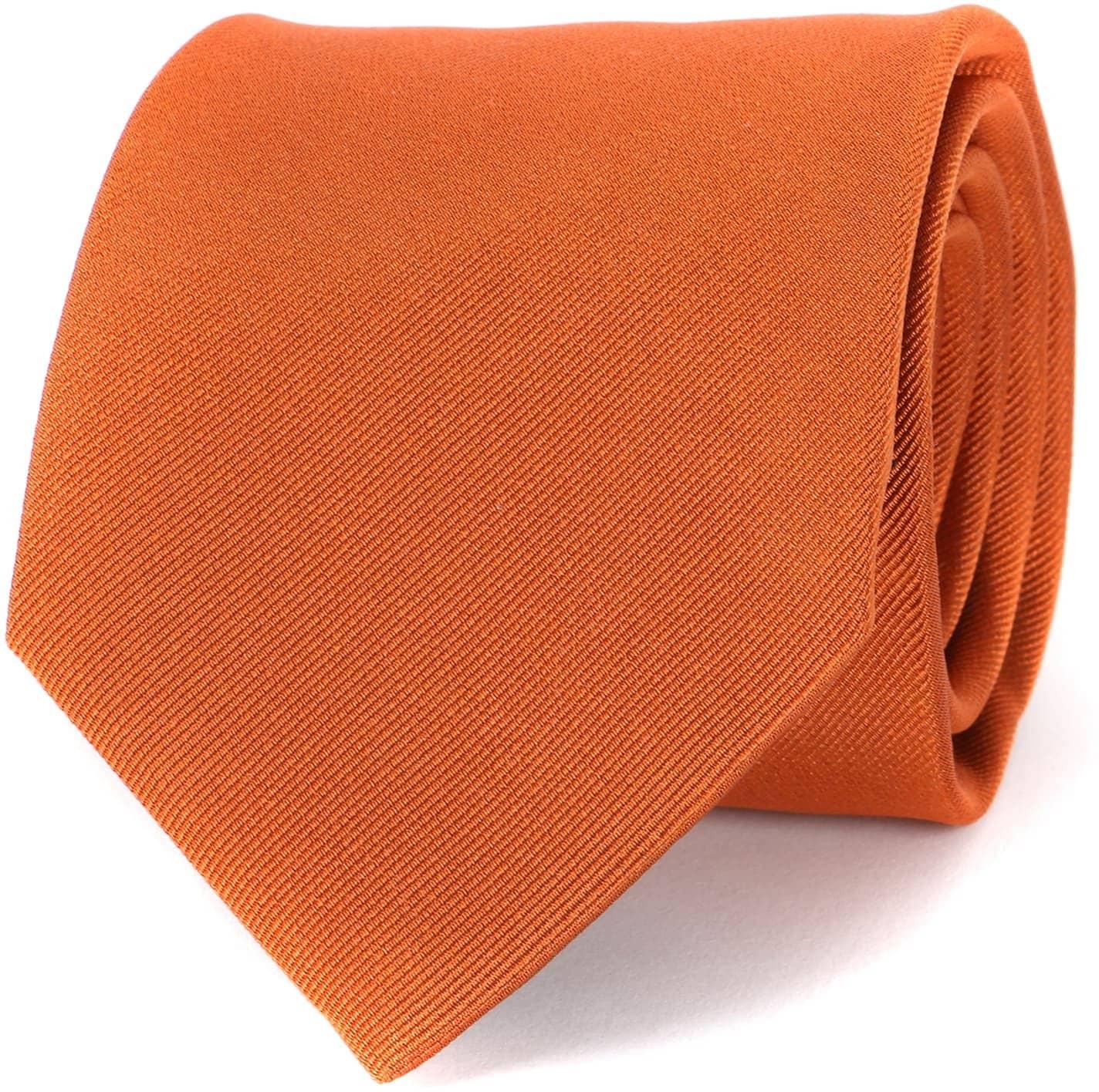 Profuomo Tie Orange 16Q foto 0