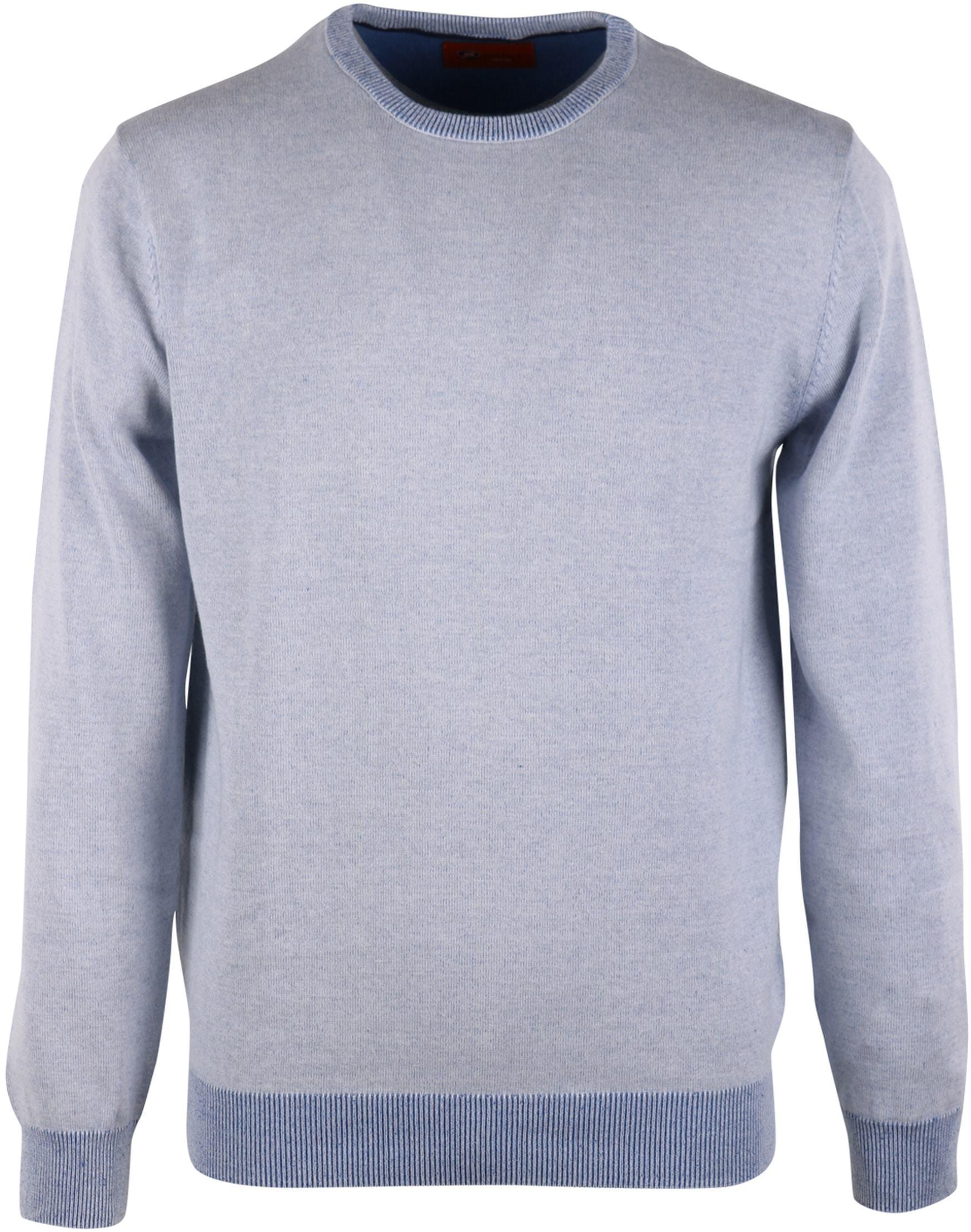 Pullover O-Hals Blauw foto 0