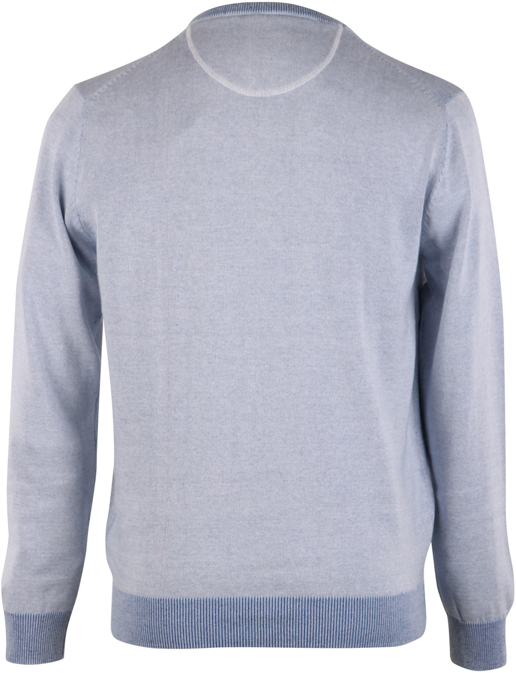 Pullover O-Hals Blauw foto 1