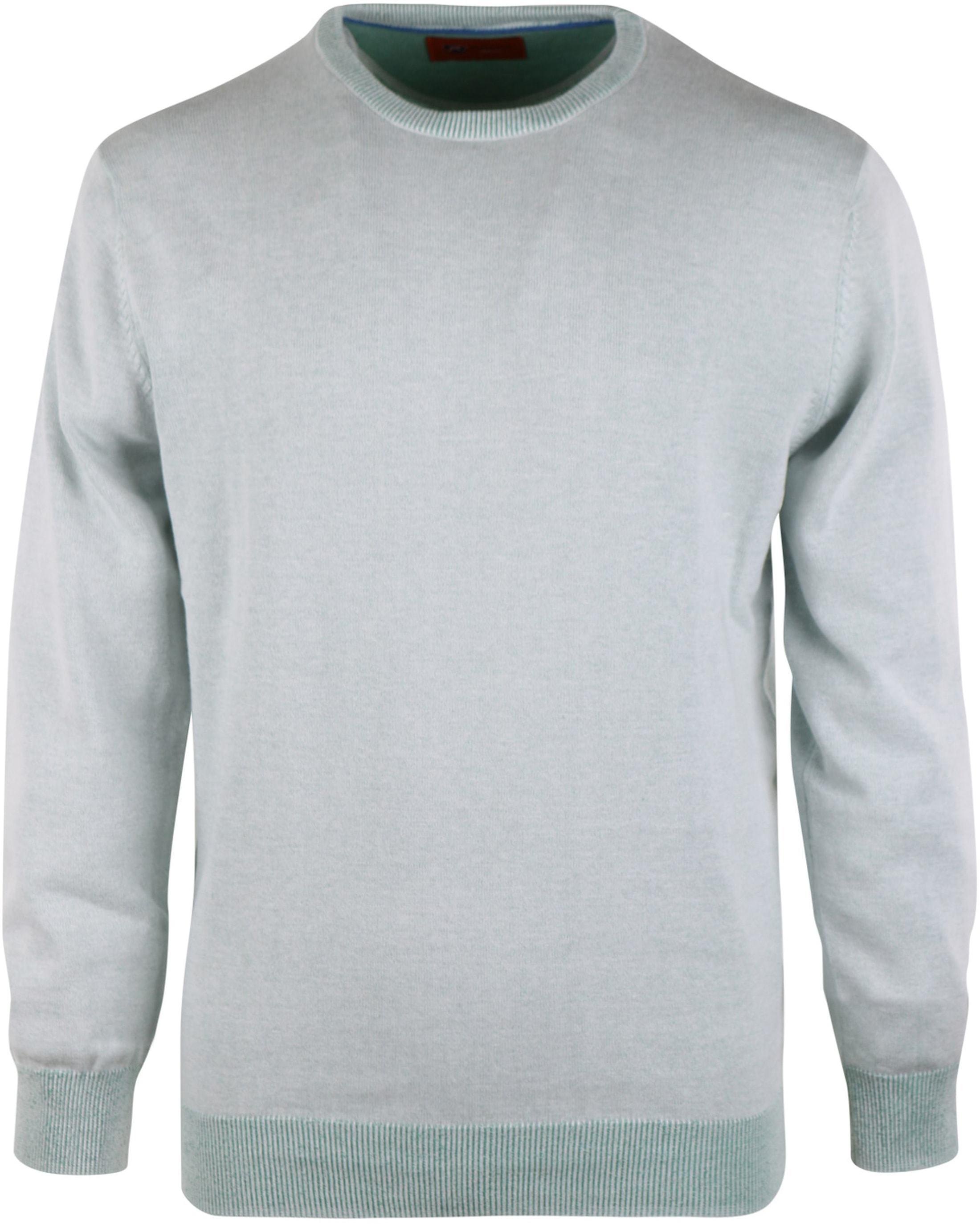 Pullover O-Hals Groen foto 0