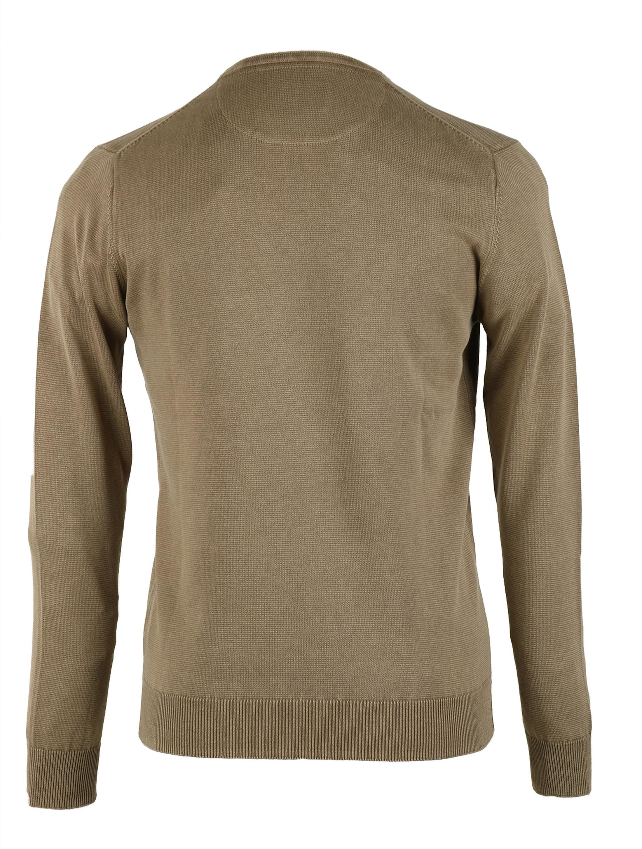 Pullover Washed Ribs Khaki foto 2