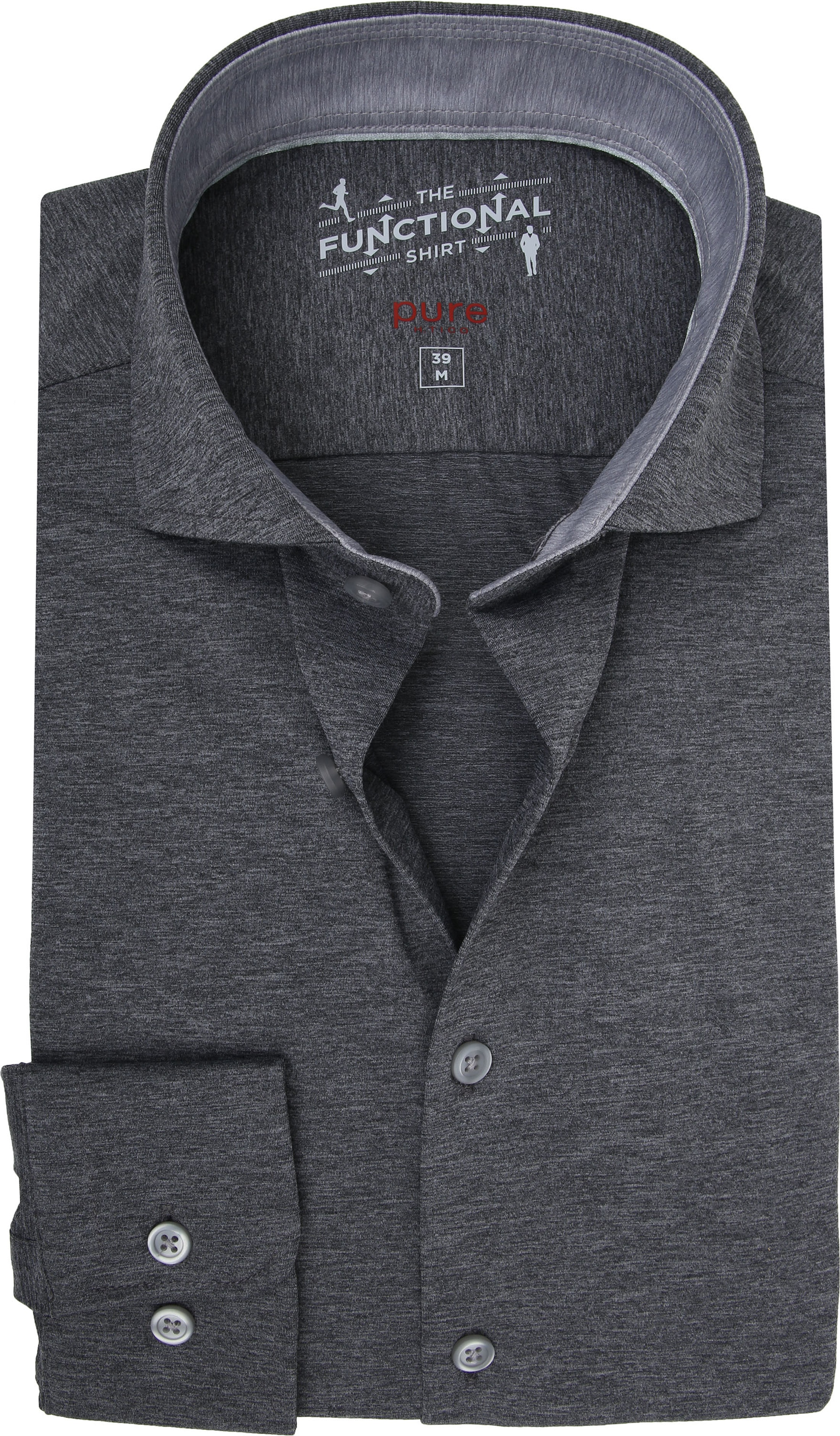 Pure H.Tico The Functional Shirt Dark Grey photo 0