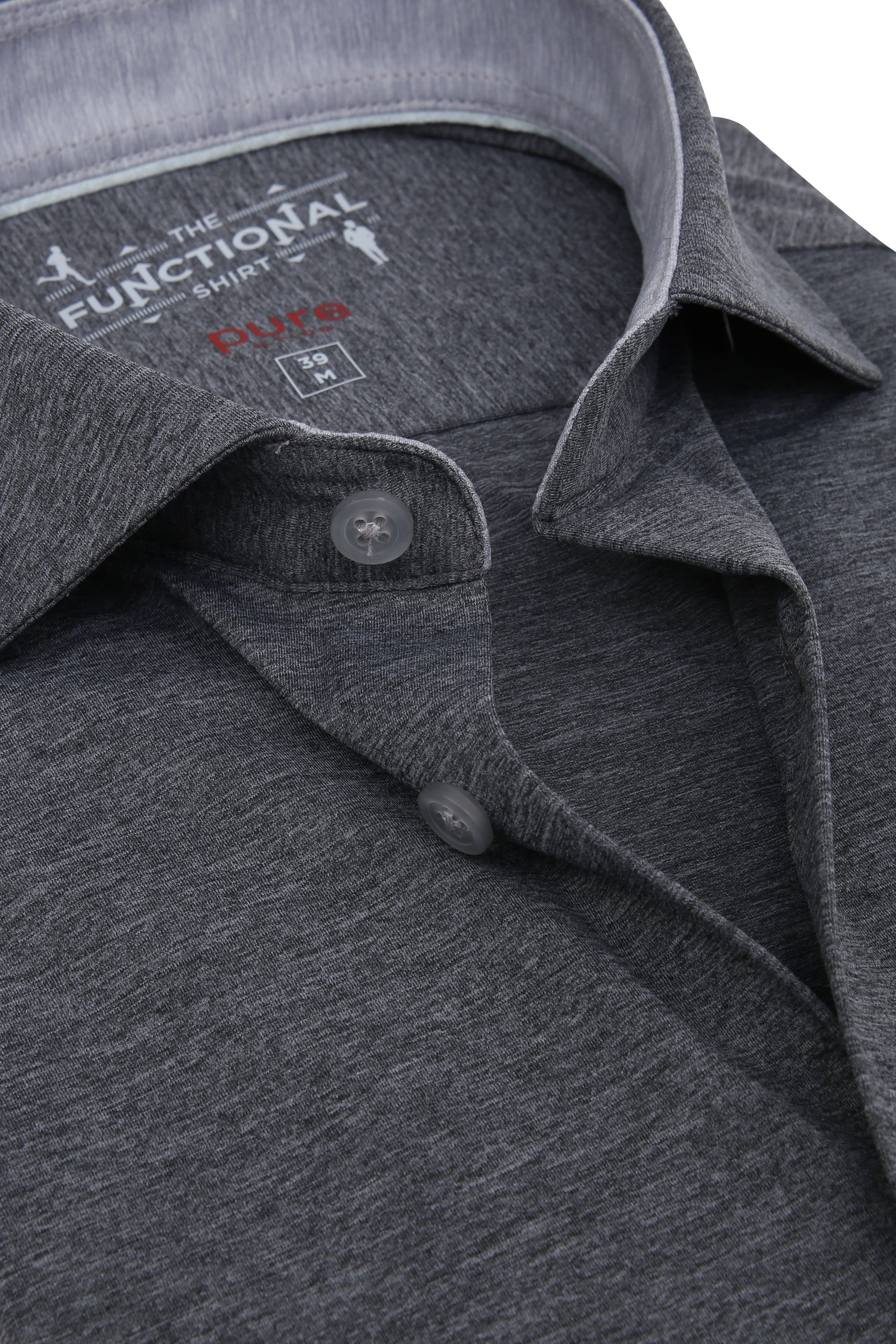 Pure H.Tico The Functional Shirt Dark Grey photo 1