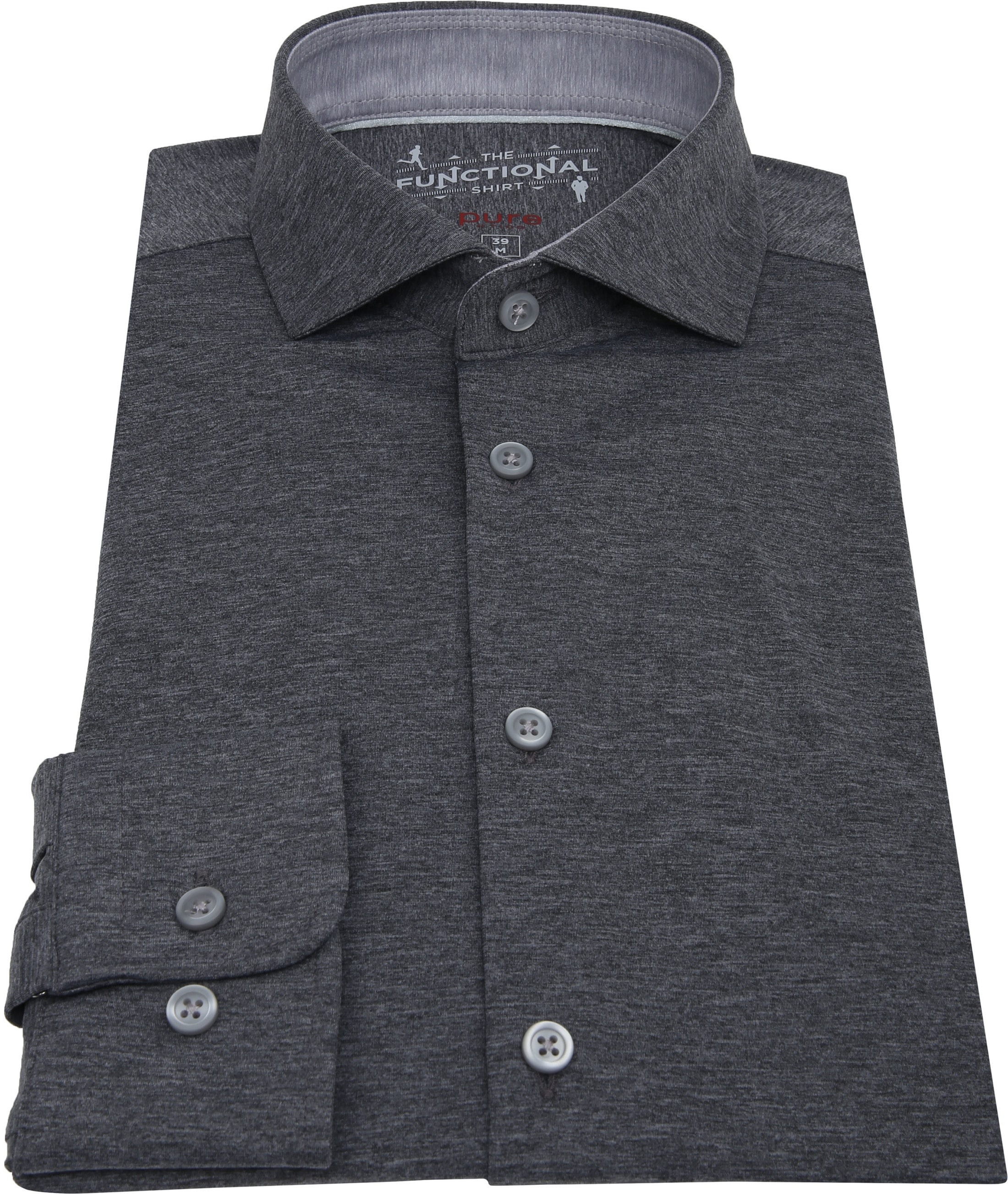 Pure H.Tico The Functional Shirt Dark Grey photo 2