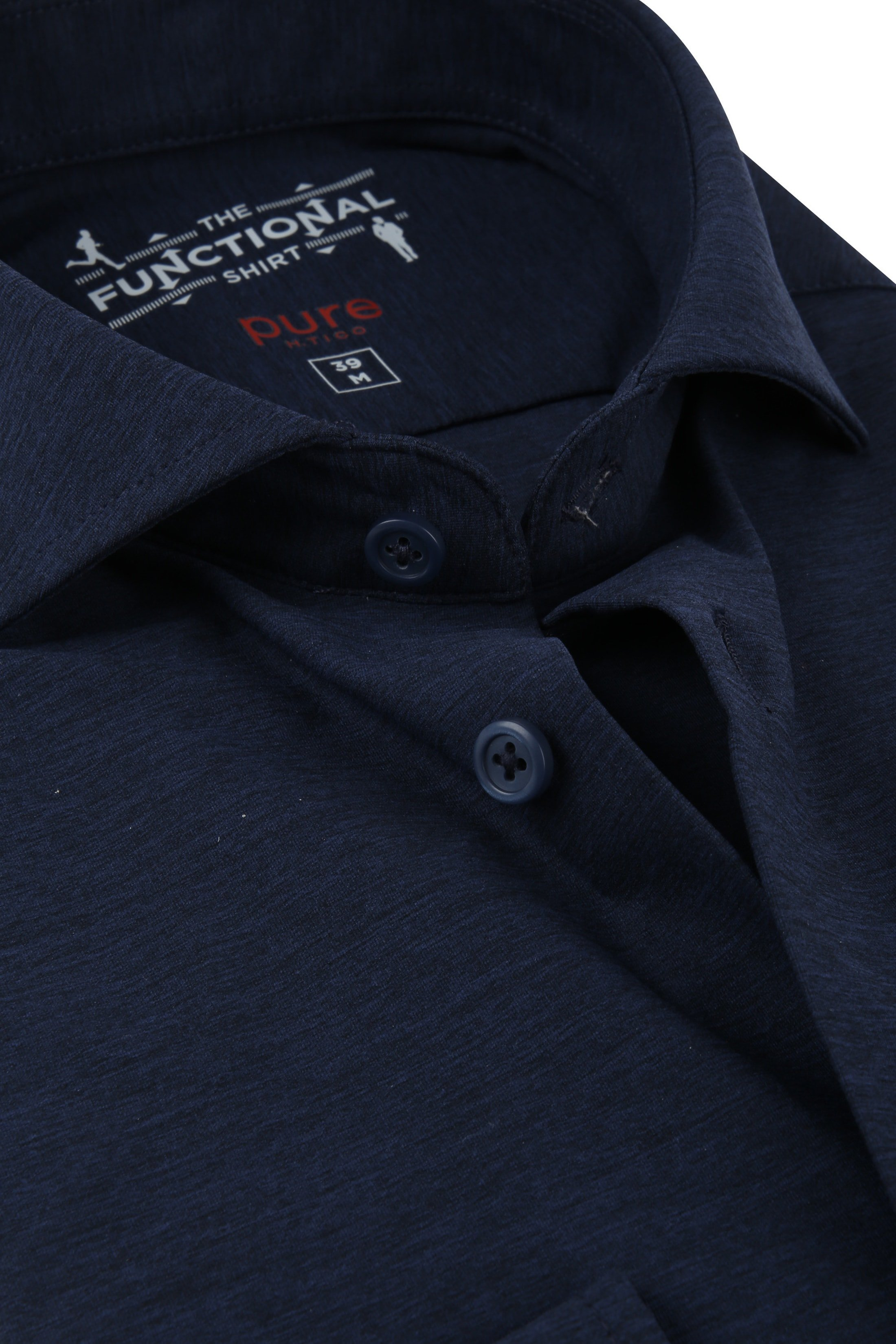 Pure H.Tico The Functional Shirt Navy photo 1