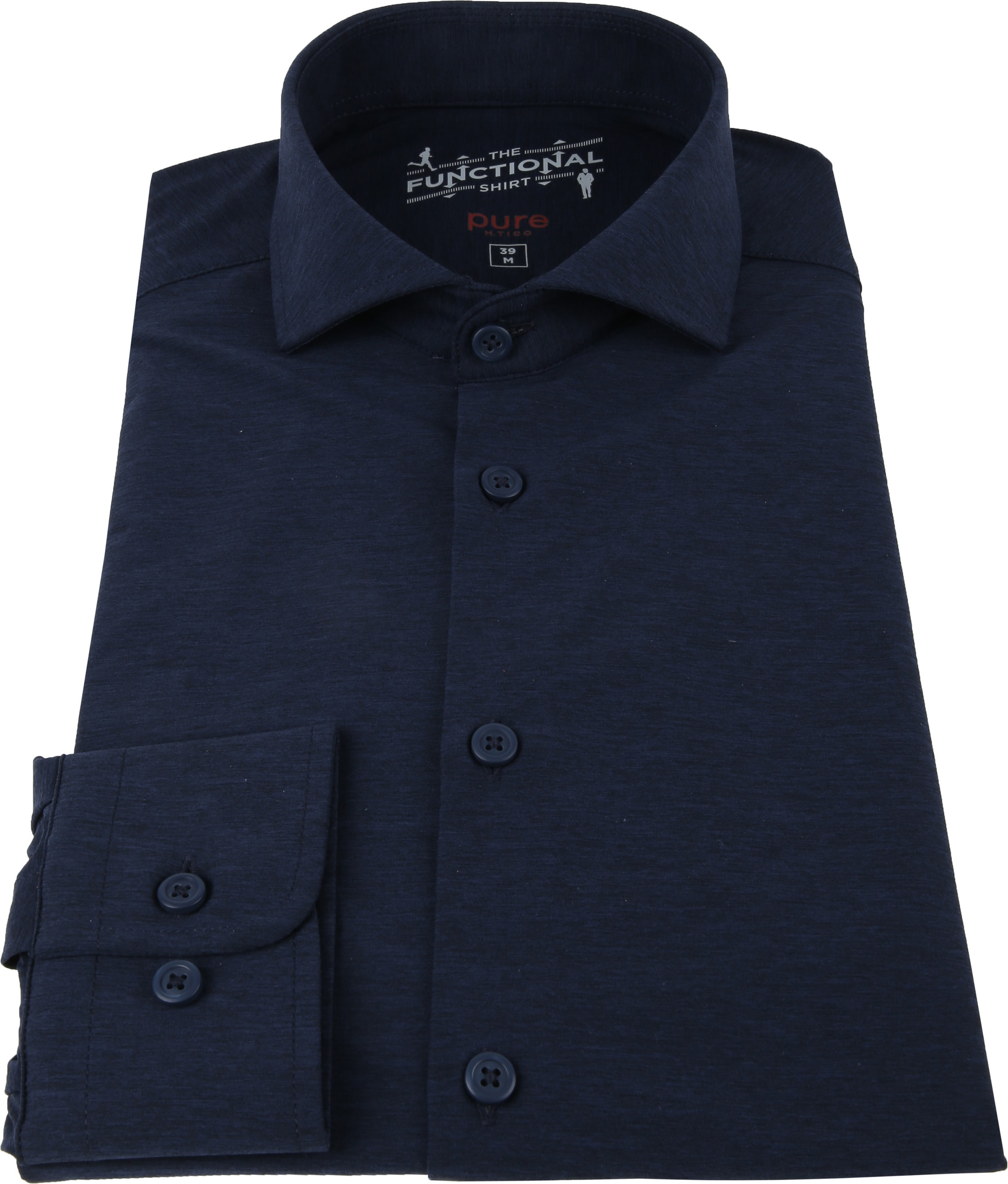 Pure H.Tico The Functional Shirt Navy photo 2