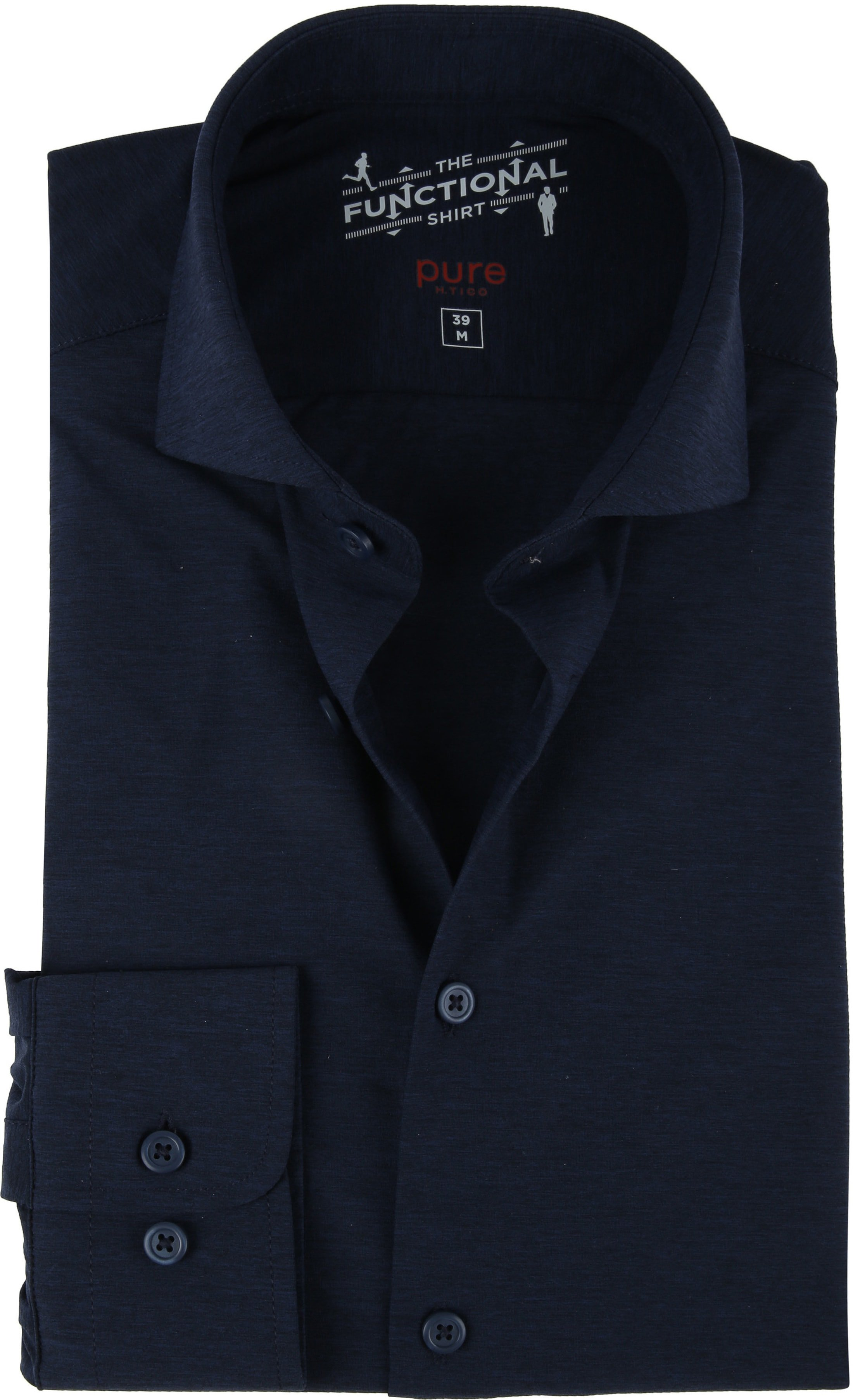 Pure H.Tico The Functional Shirt Navy