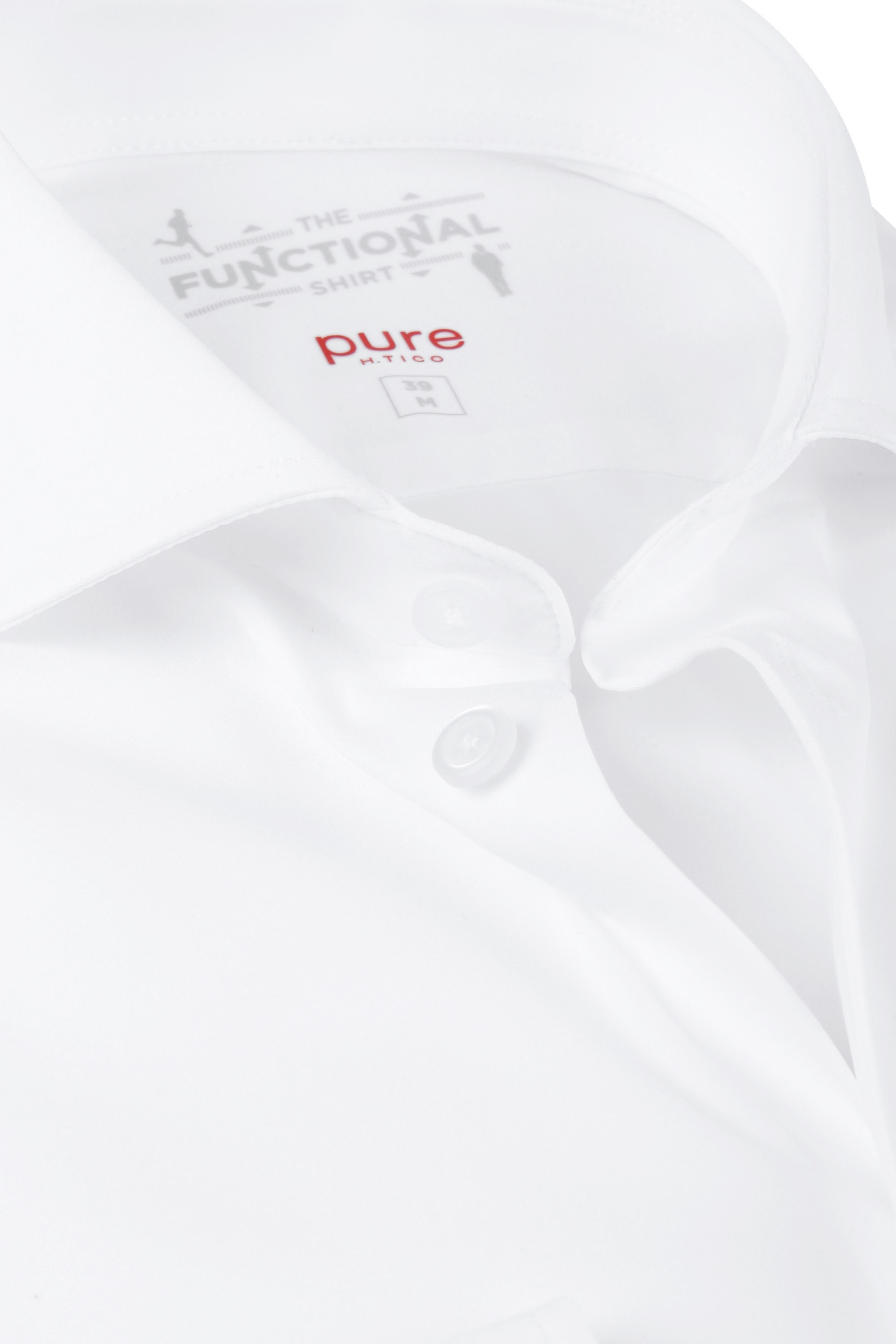 Pure H.Tico The Functional Shirt White photo 1